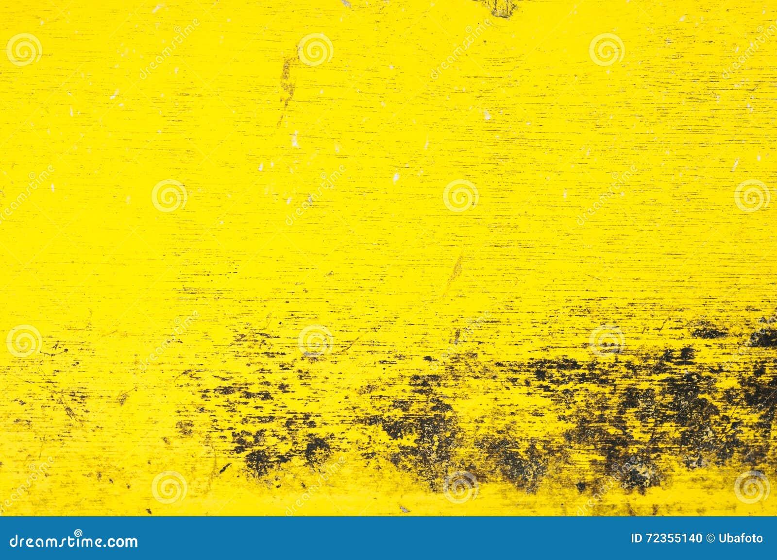 土气黄色黑木背景