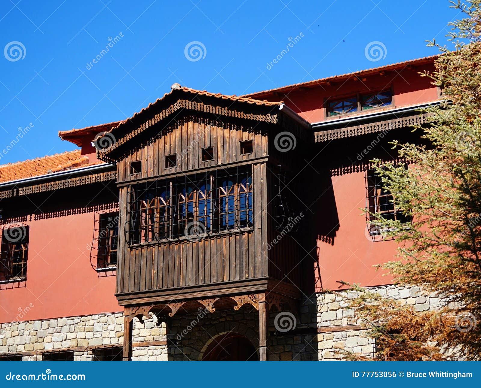 土耳其样式附上的阳台,希腊