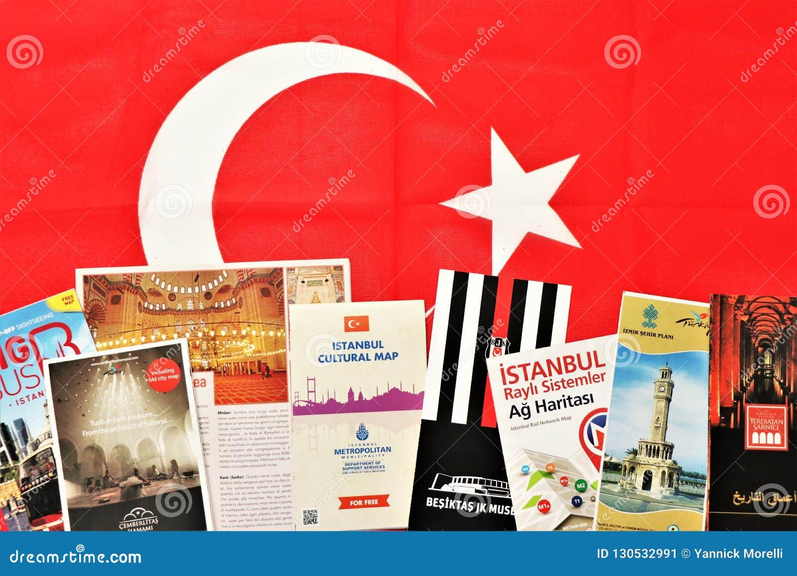 土耳其的小册子 有用准备旅行