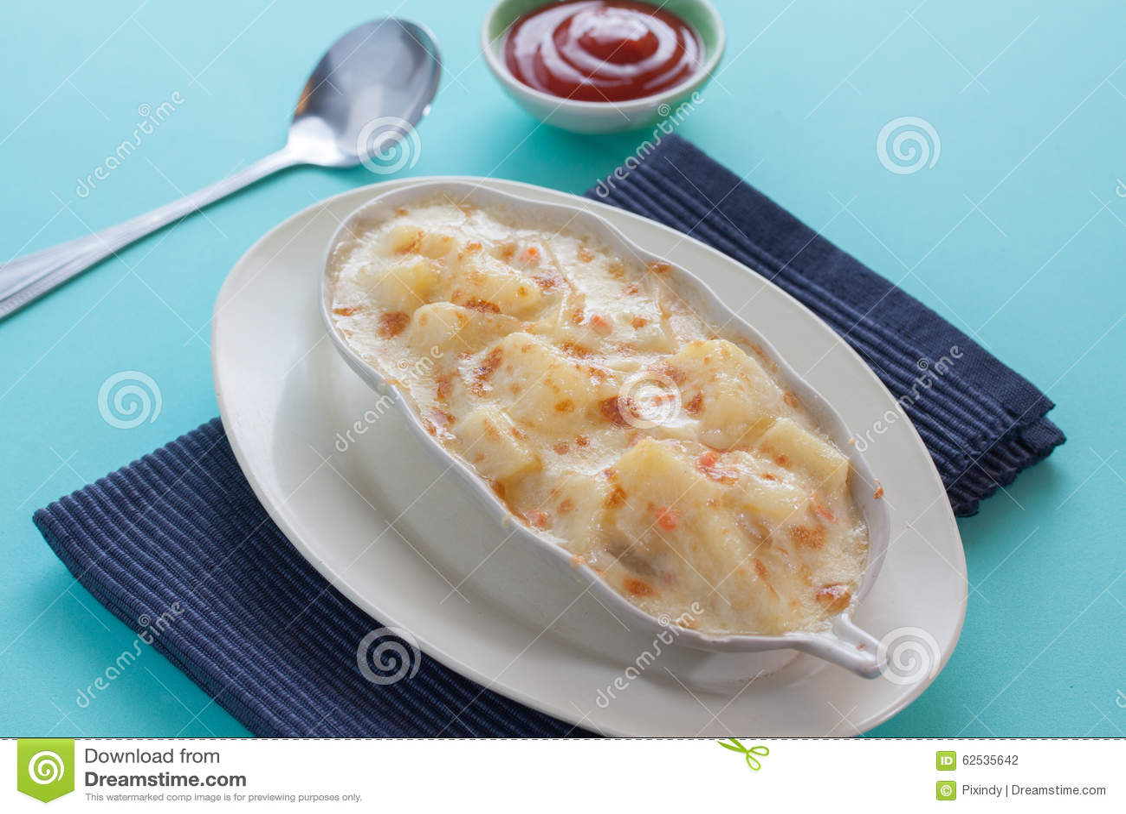 土豆澳大利亚焦干酪