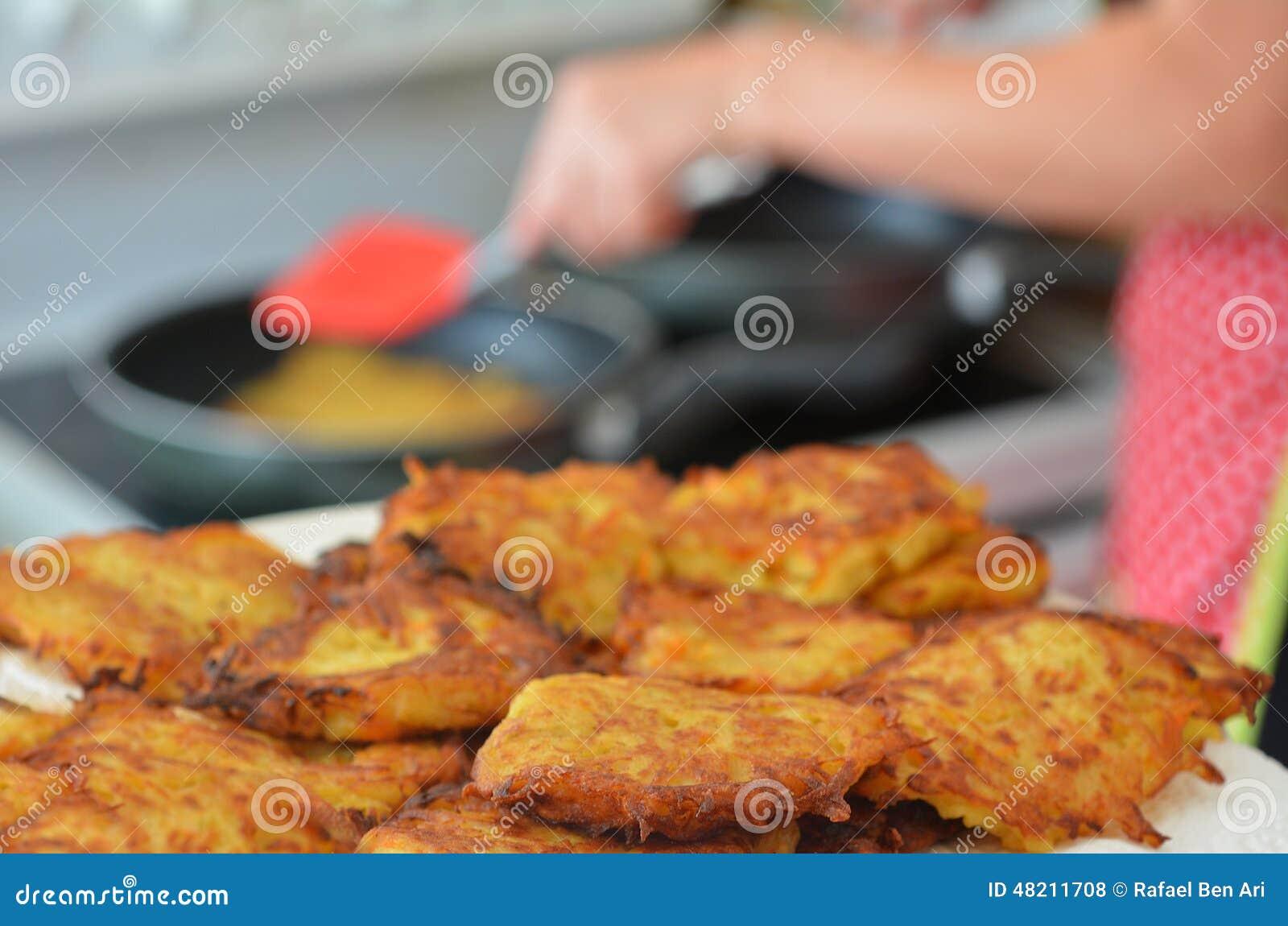 土豆马铃薯饼-光明节犹太假日食物