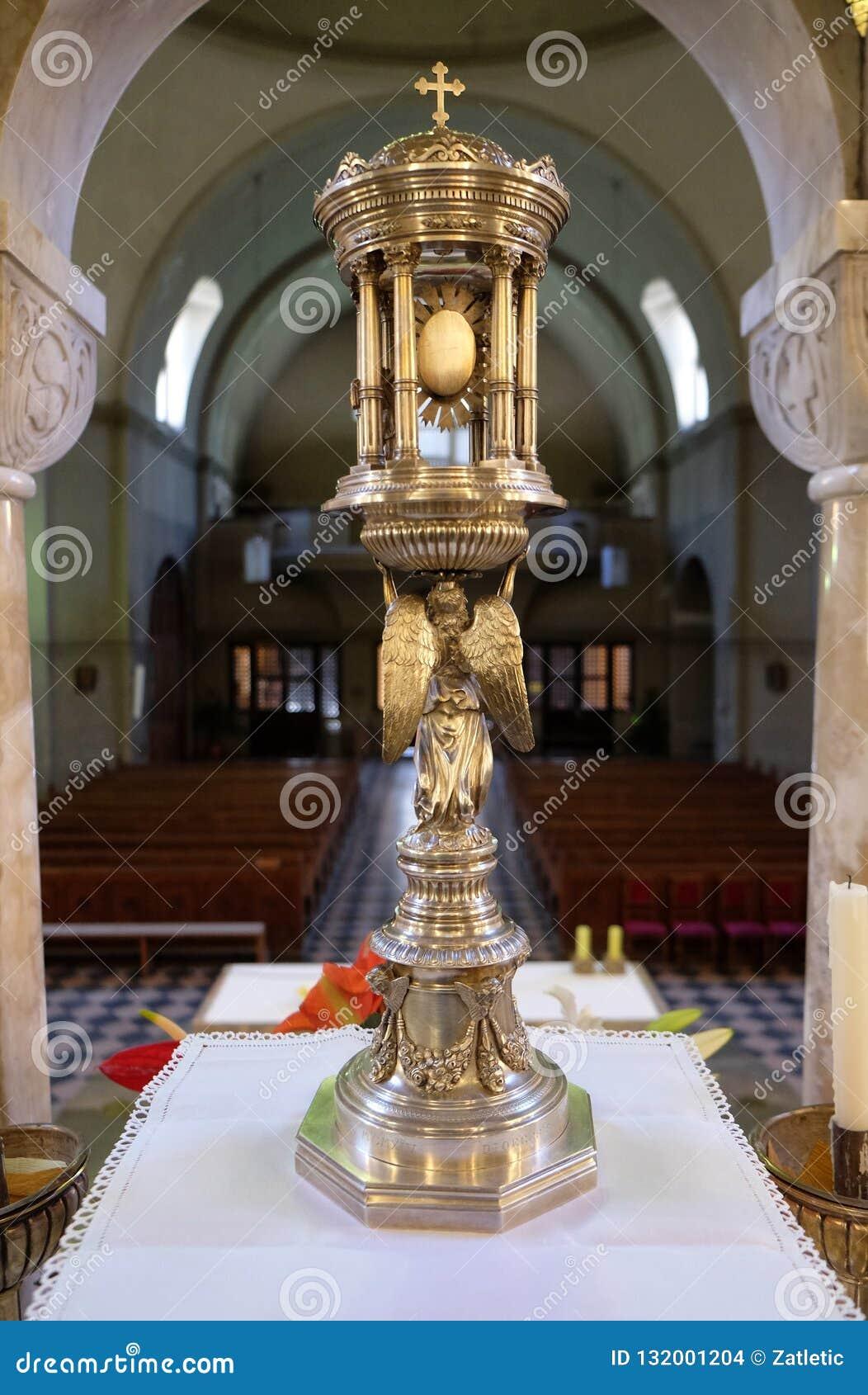 圣体匣,圣布莱斯教会在萨格勒布