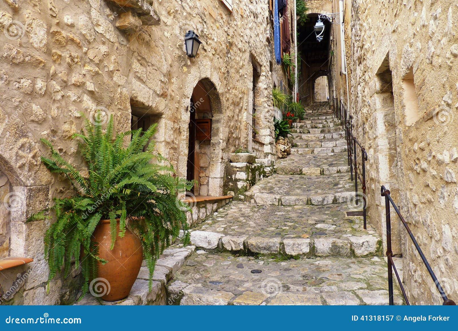 圣保罗de Vence小山顶村庄