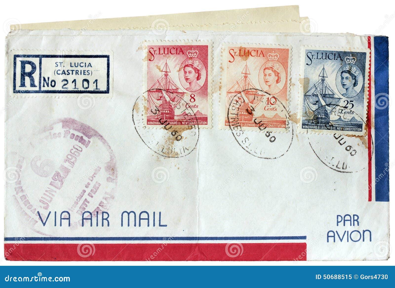 Download 圣卢西亚邮政盖子 库存图片. 图片 包括有 加勒比, 旗舰, 反气旋, 图画, 发现, 年龄, 消息, 海岛 - 50688515