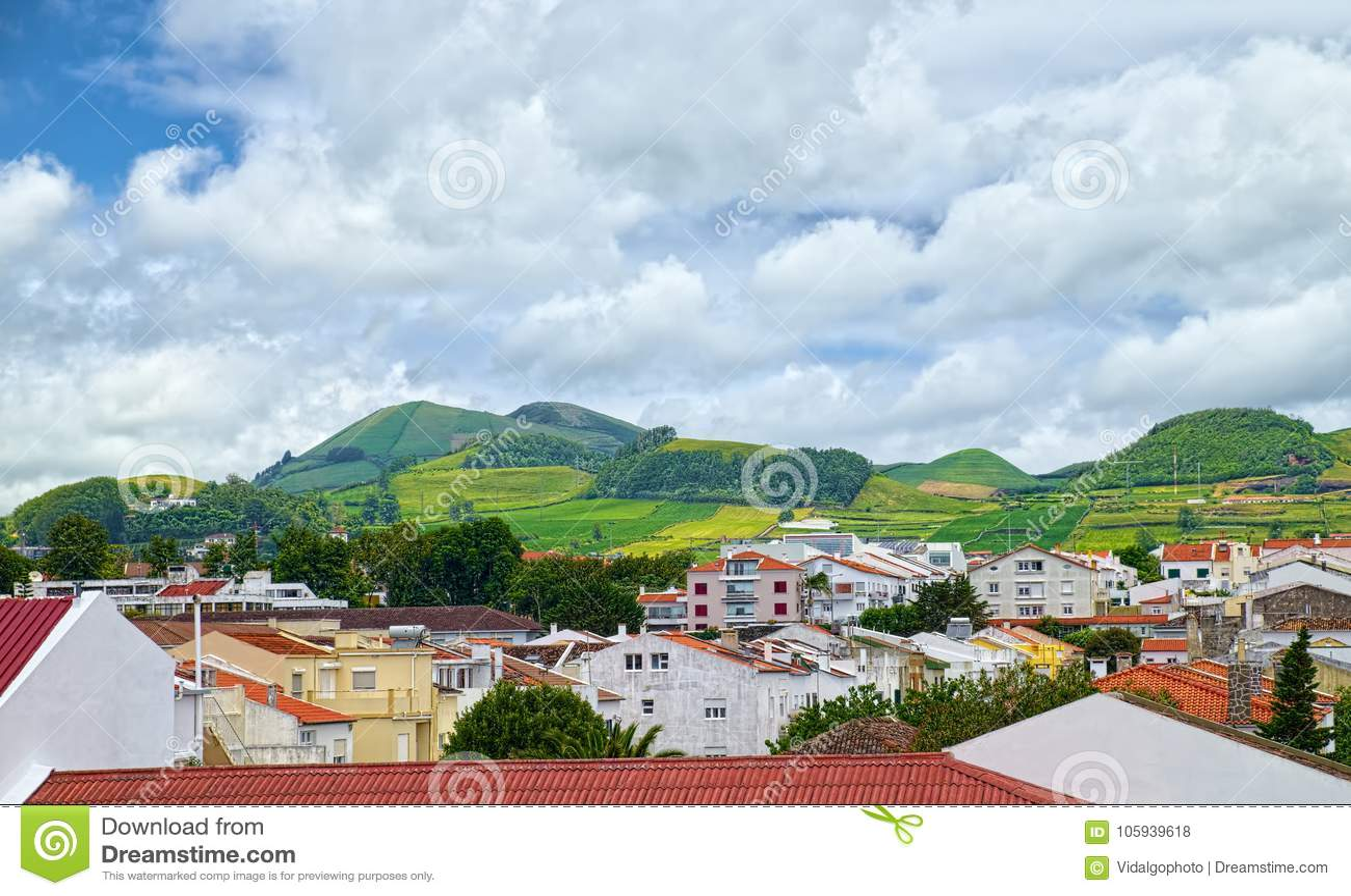 圣地米格尔海岛,亚速尔群岛,葡萄牙风景