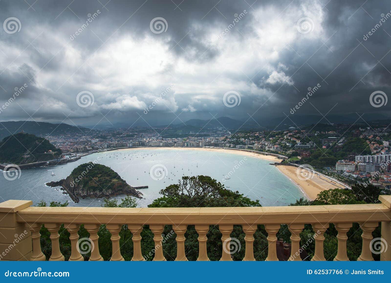 圣塞瓦斯蒂安Donostia,巴斯克国家,西班牙