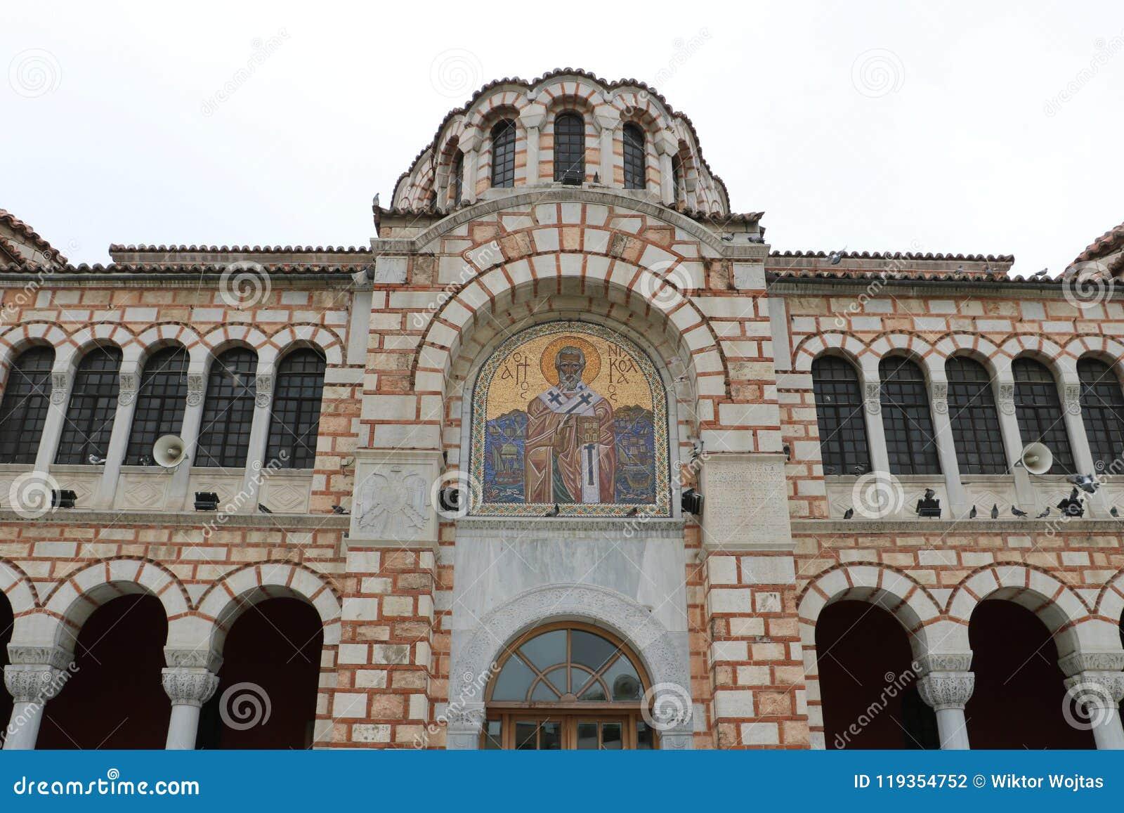 圣尼古拉斯大教堂在沃洛斯
