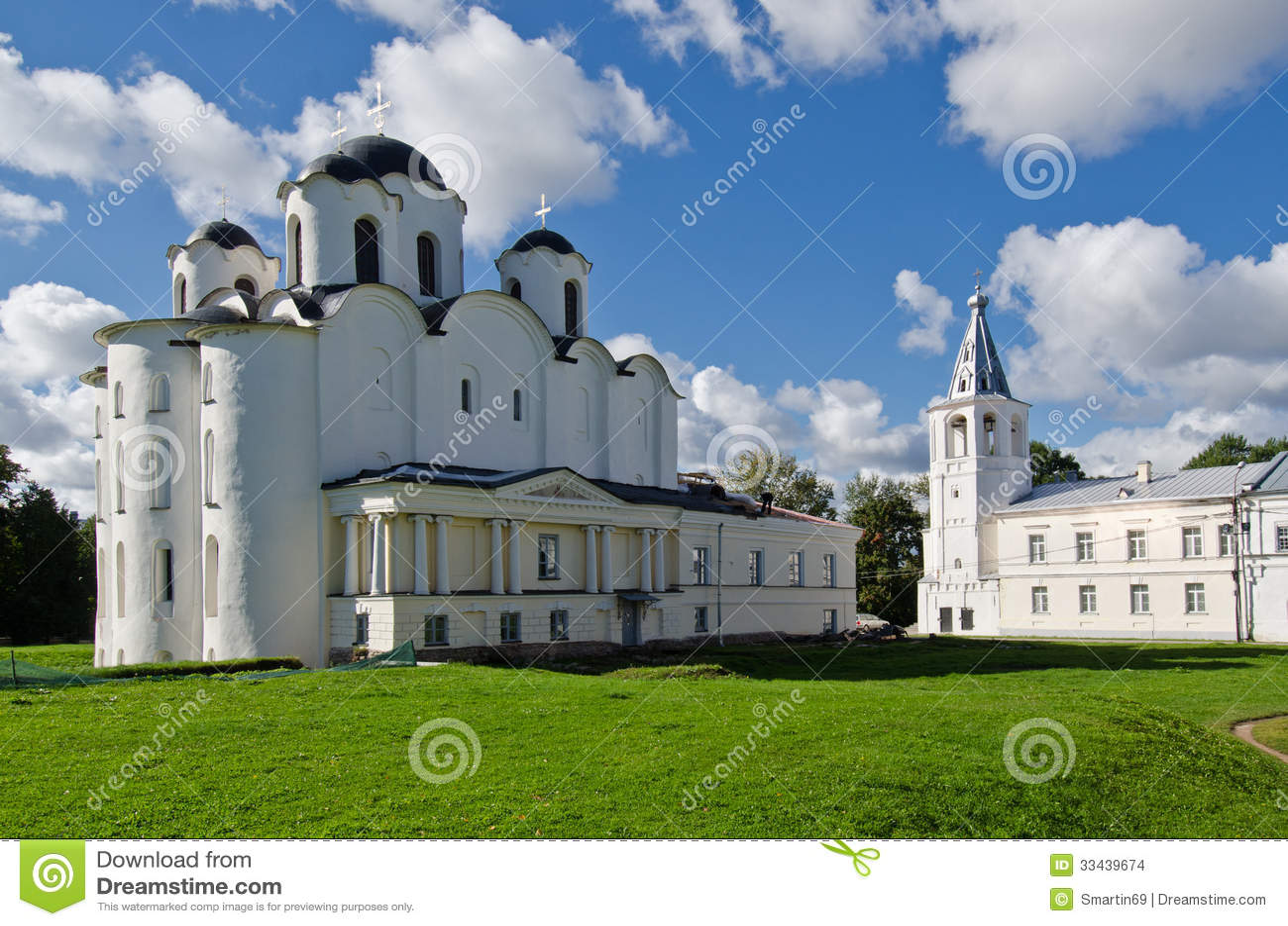 圣尼古拉斯大教堂,了不起的诺夫哥罗德,俄罗斯