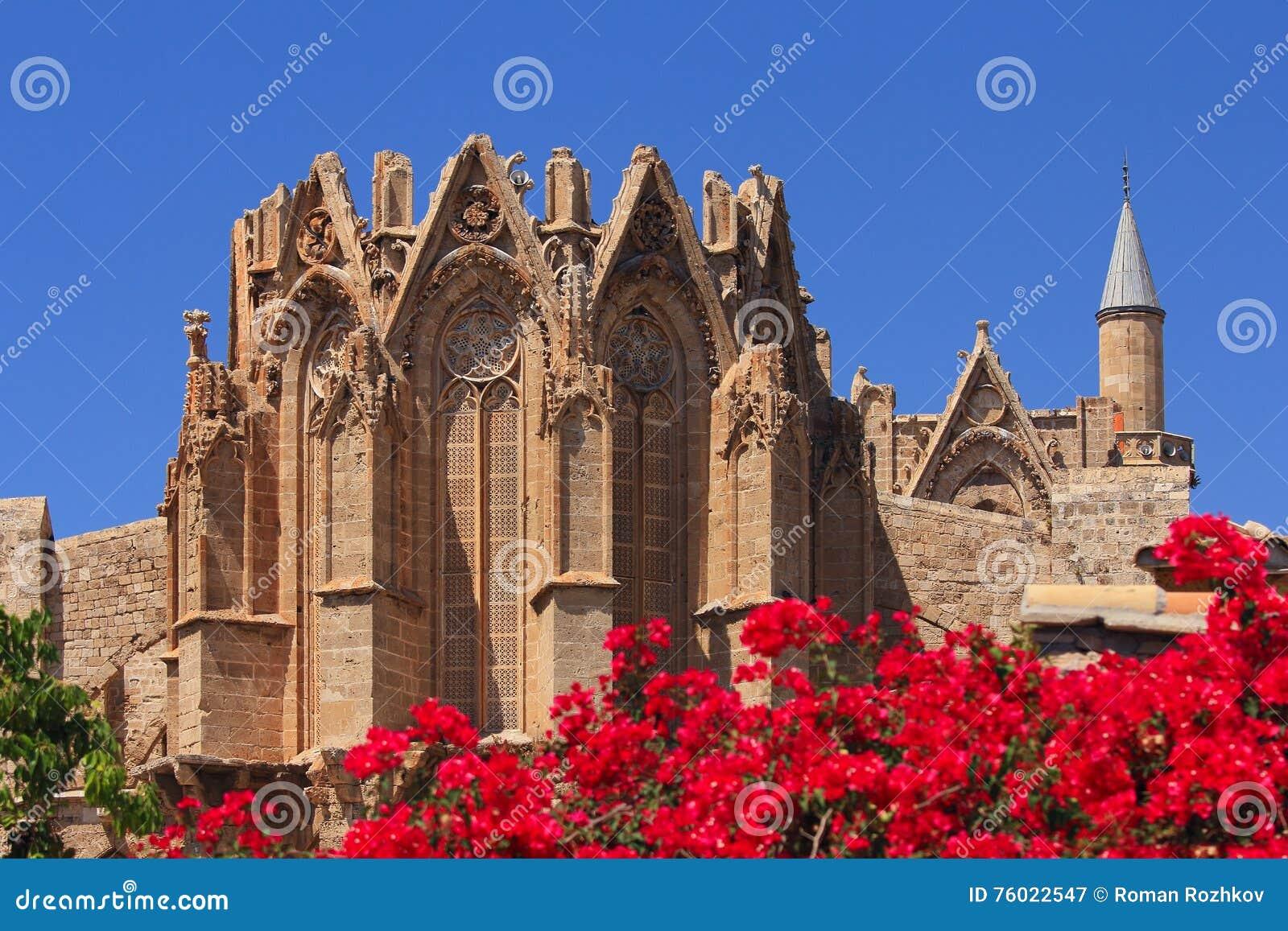 圣尼古拉斯大教堂(Lala穆斯塔法清真寺) 法马古斯塔,塞浦路斯