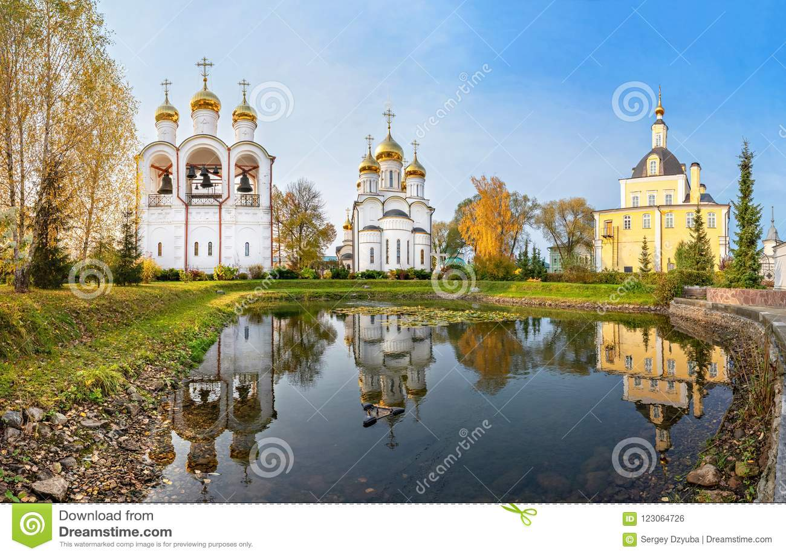 圣尼古拉斯女修道院Pereslavsky在Pereslavl-Zalessky,俄罗斯