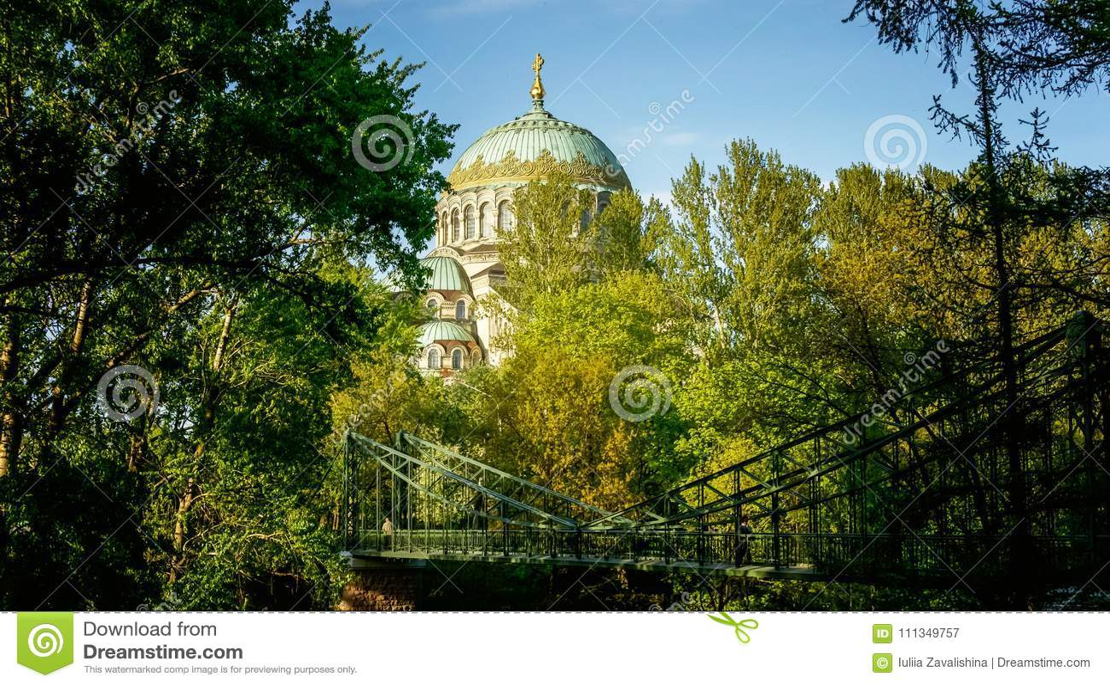 圣尼古拉斯海军大教堂Kronstadt