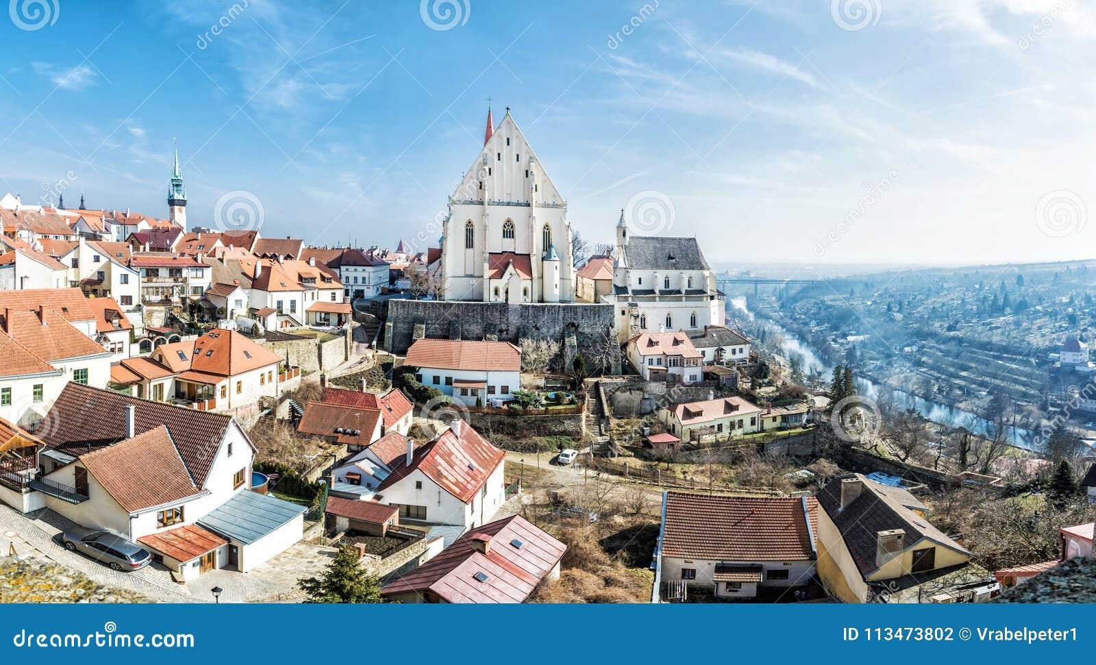 圣尼古拉斯`宅邸教会, Znojmo,捷克共和国