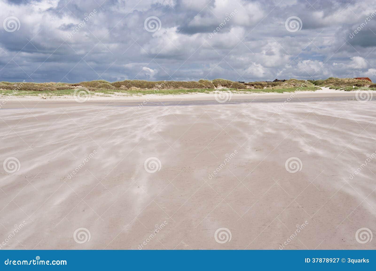 圣彼得Ording海滩