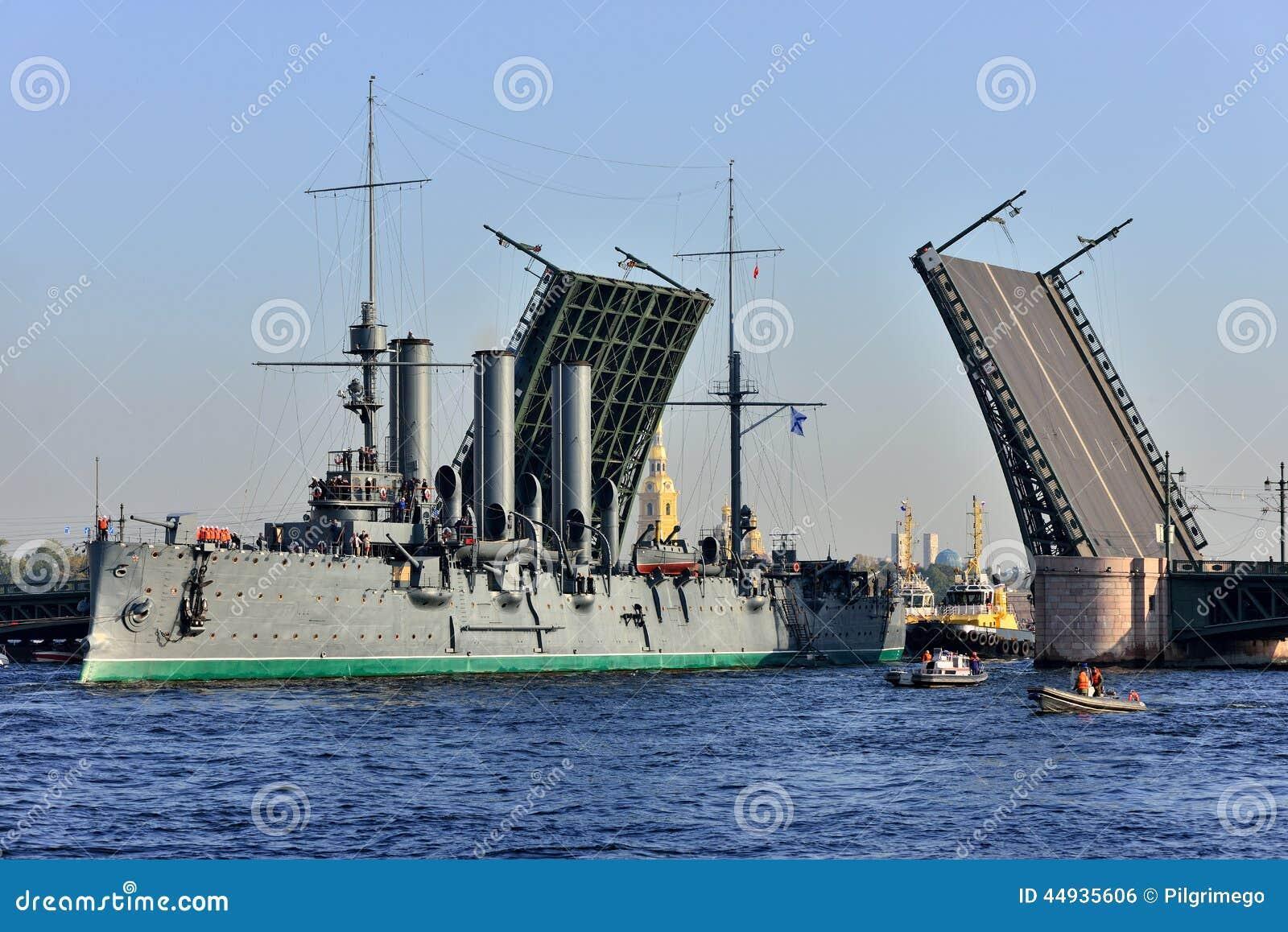 圣彼德堡 巡洋舰段落