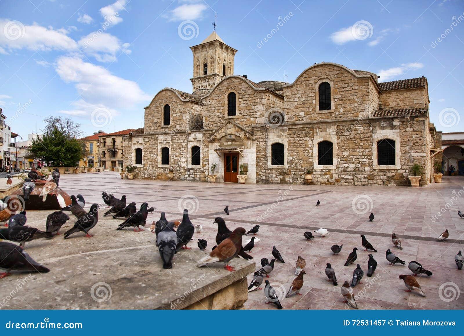 圣徒拉撒路,拉纳卡,塞浦路斯教会
