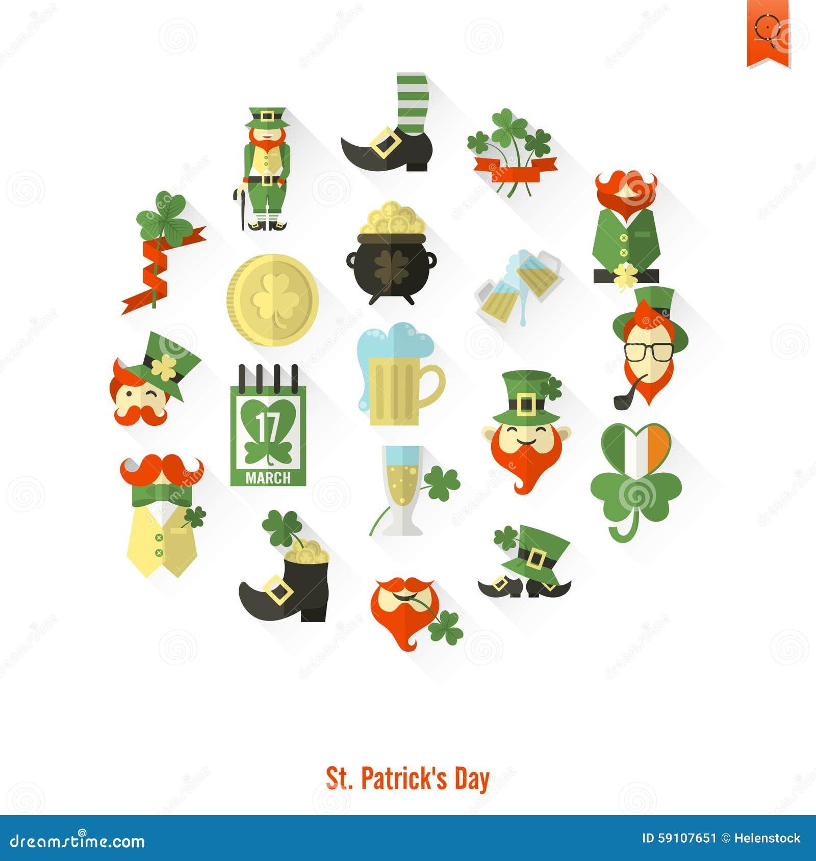 圣徒Patricks天隔绝了象集合