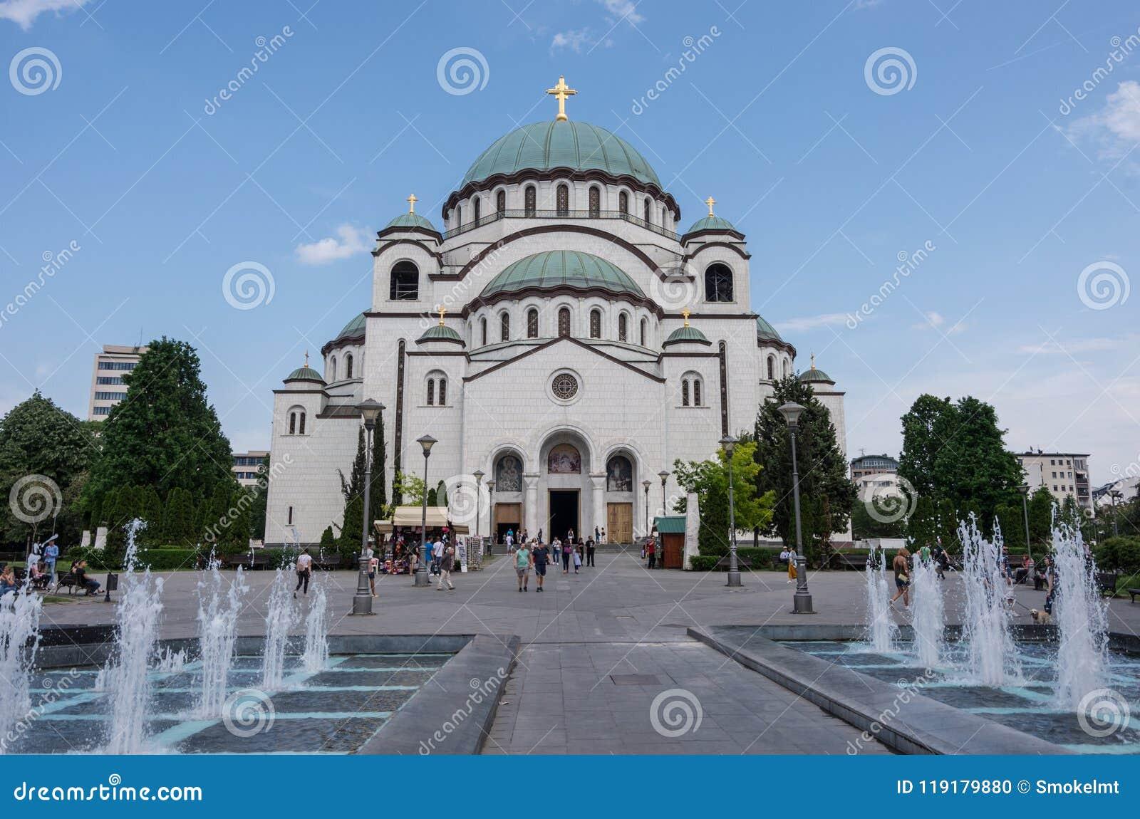 圣徒Sava,贝尔格莱德,塞尔维亚大教堂