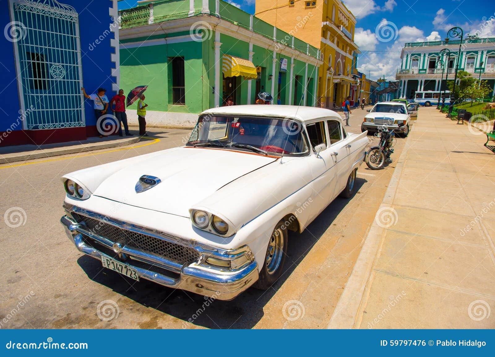 圣斯皮里图斯市,古巴- 2015年9月5日:拉丁语