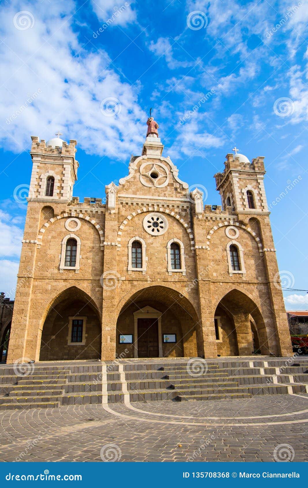 圣斯蒂芬的教会在巴特伦,黎巴嫩