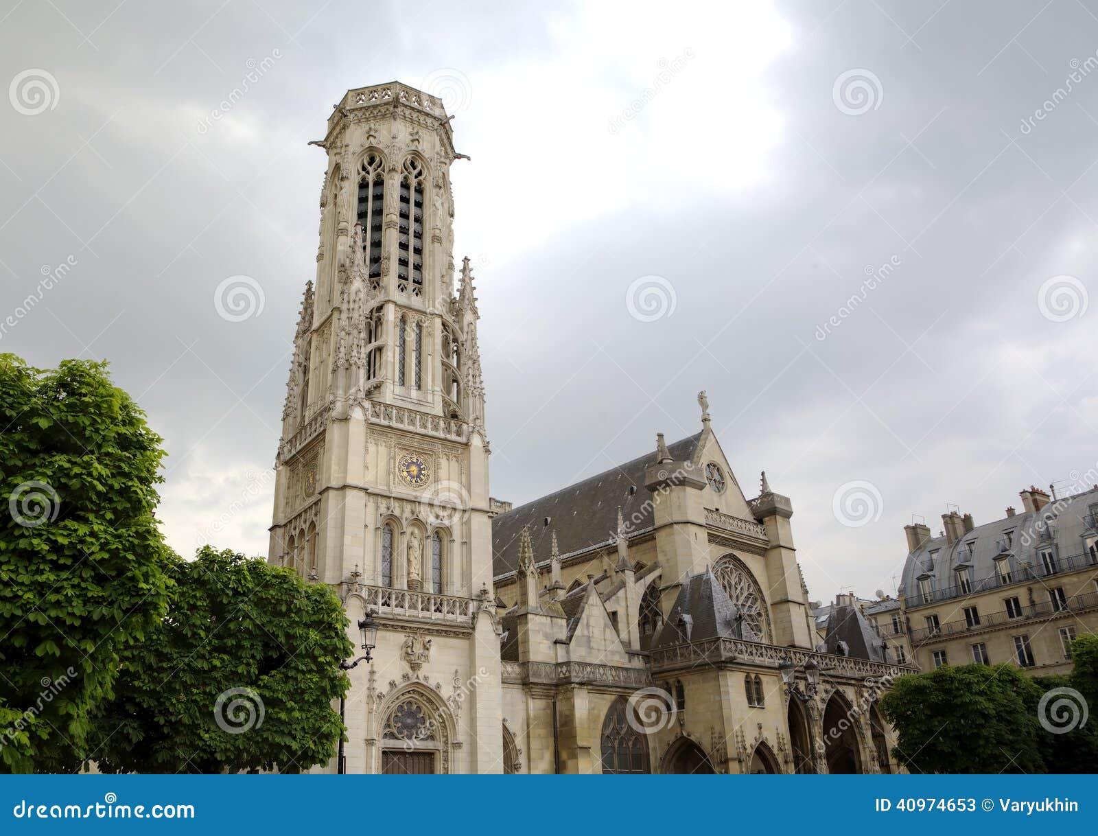 圣日耳曼在罗浮宫附近的l Auxerrois教会