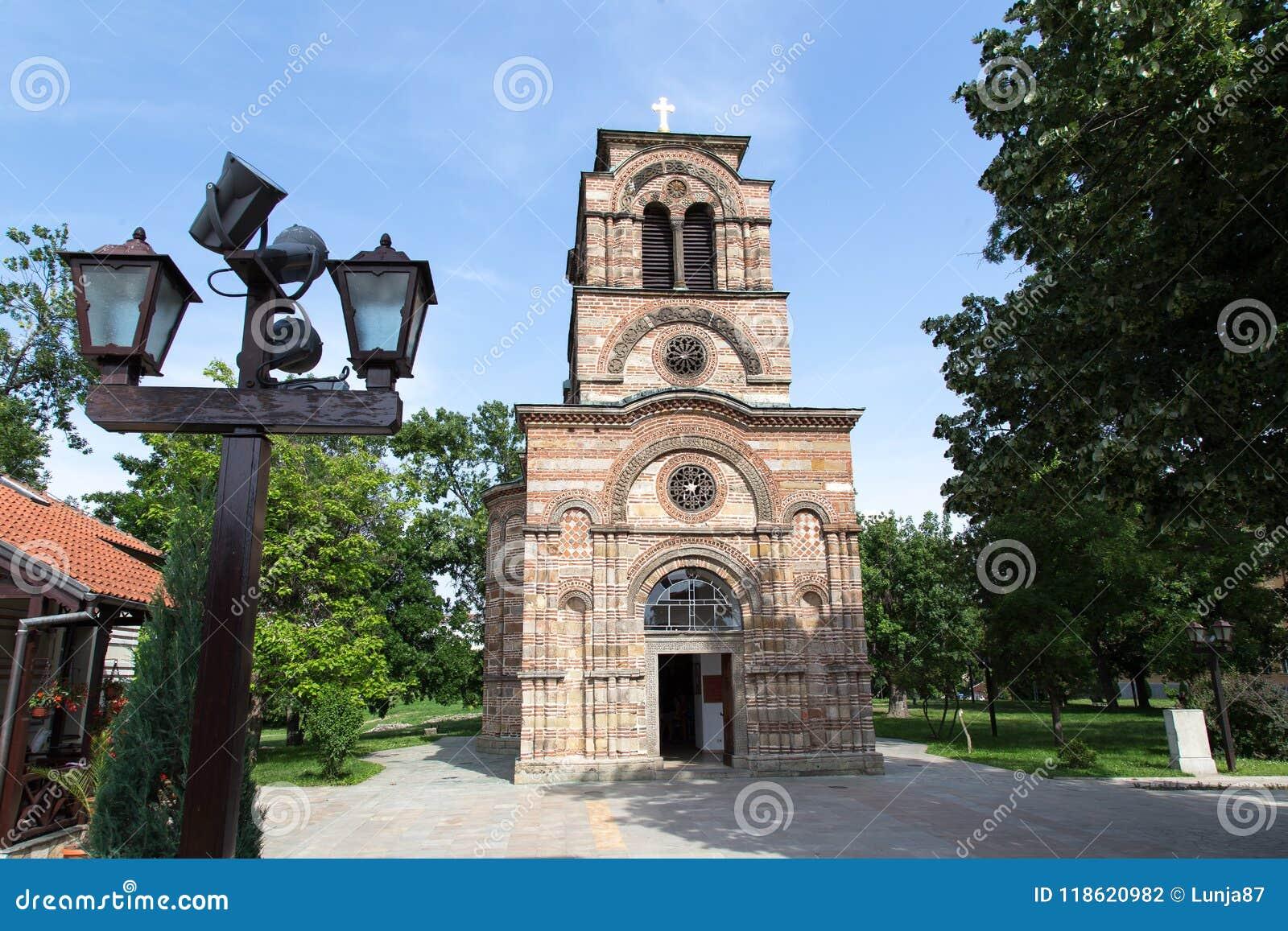 圣洁第一个受难者斯蒂芬, Lazarica的教会