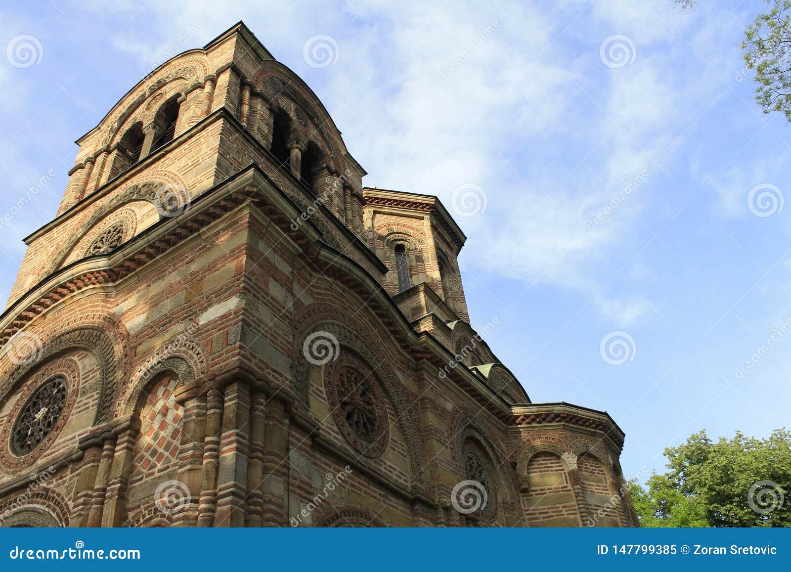 圣洁第一个受难者斯蒂芬,Lazarica的教会
