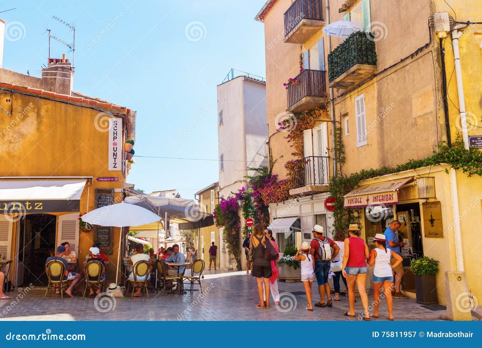 Restaurant La Villa Romana St Tropez