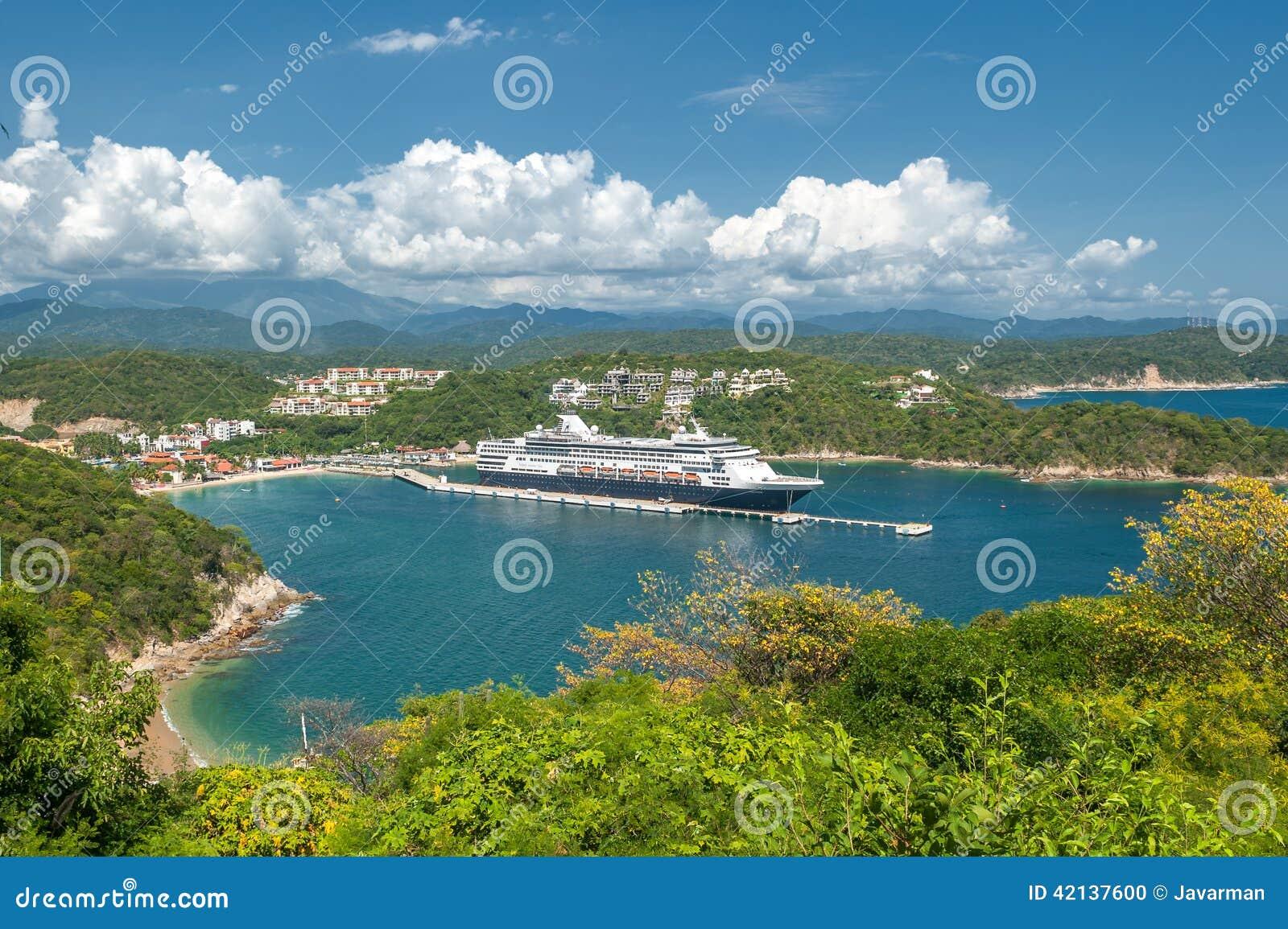圣玛丽亚HUATULCO,瓦哈卡,墨西哥:巡航划线员在墨西哥