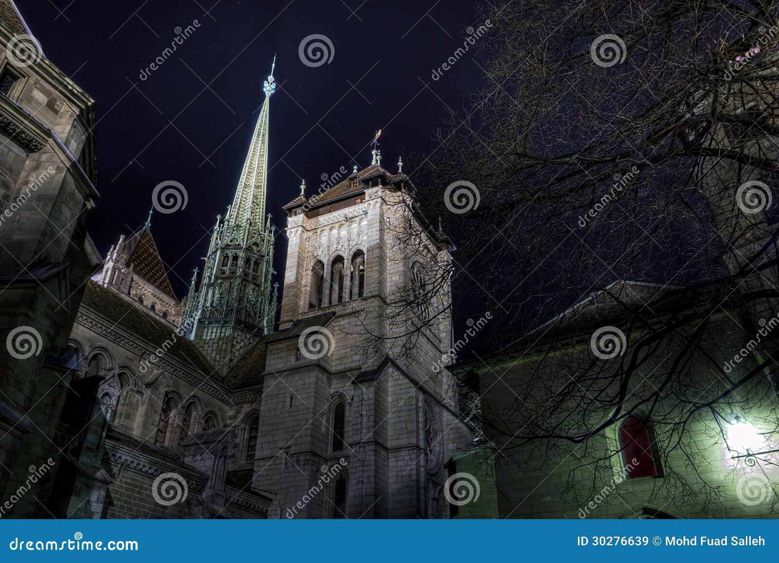 圣皮尔的大教堂,吉恩威,瑞士