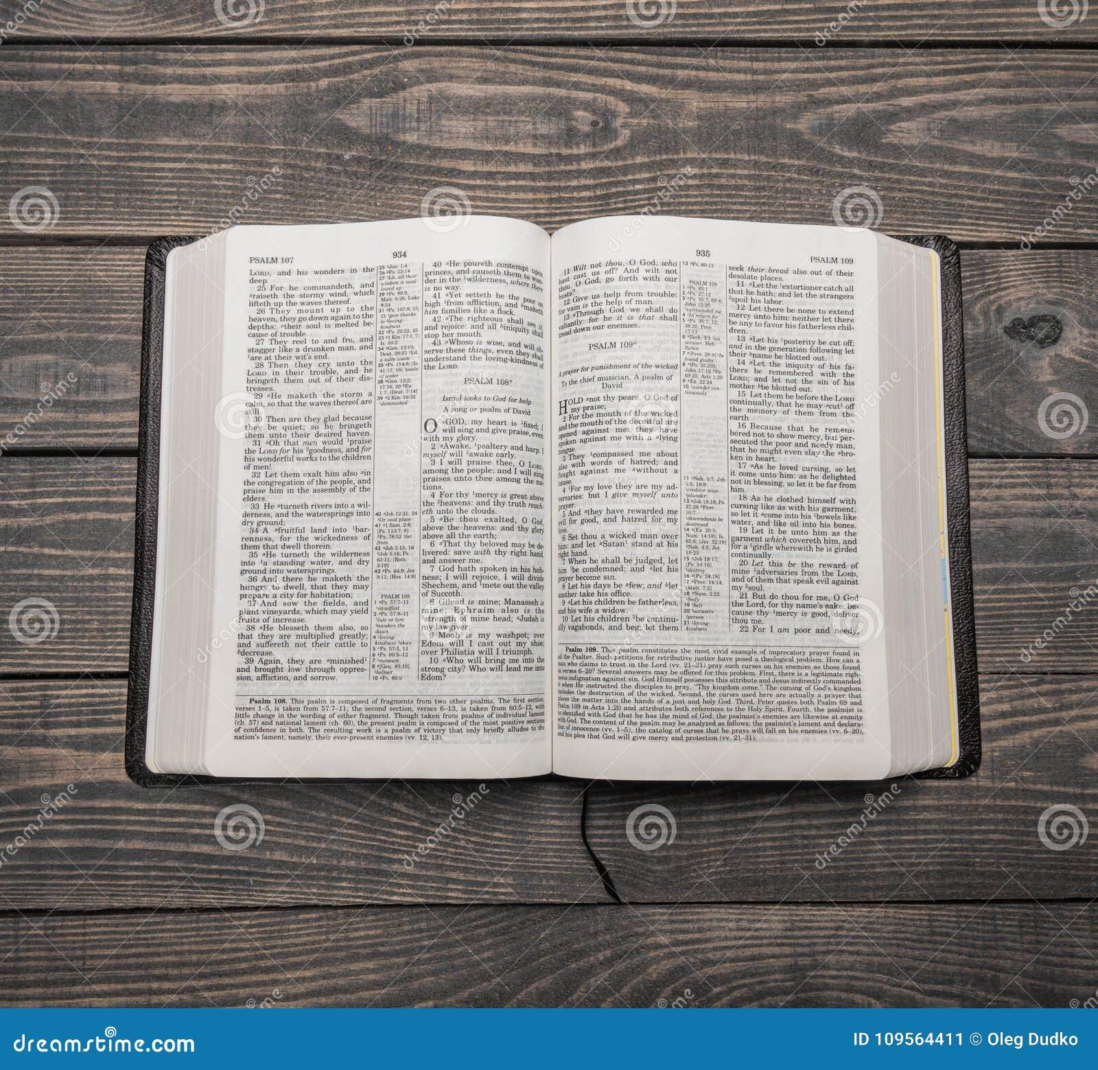 圣经书,顶视图