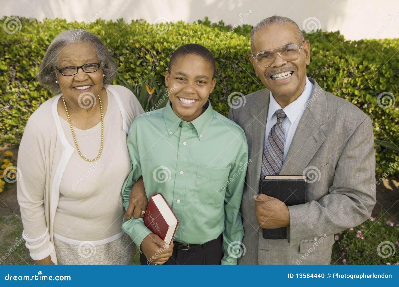 圣经基督徒祖父项孙子藏品