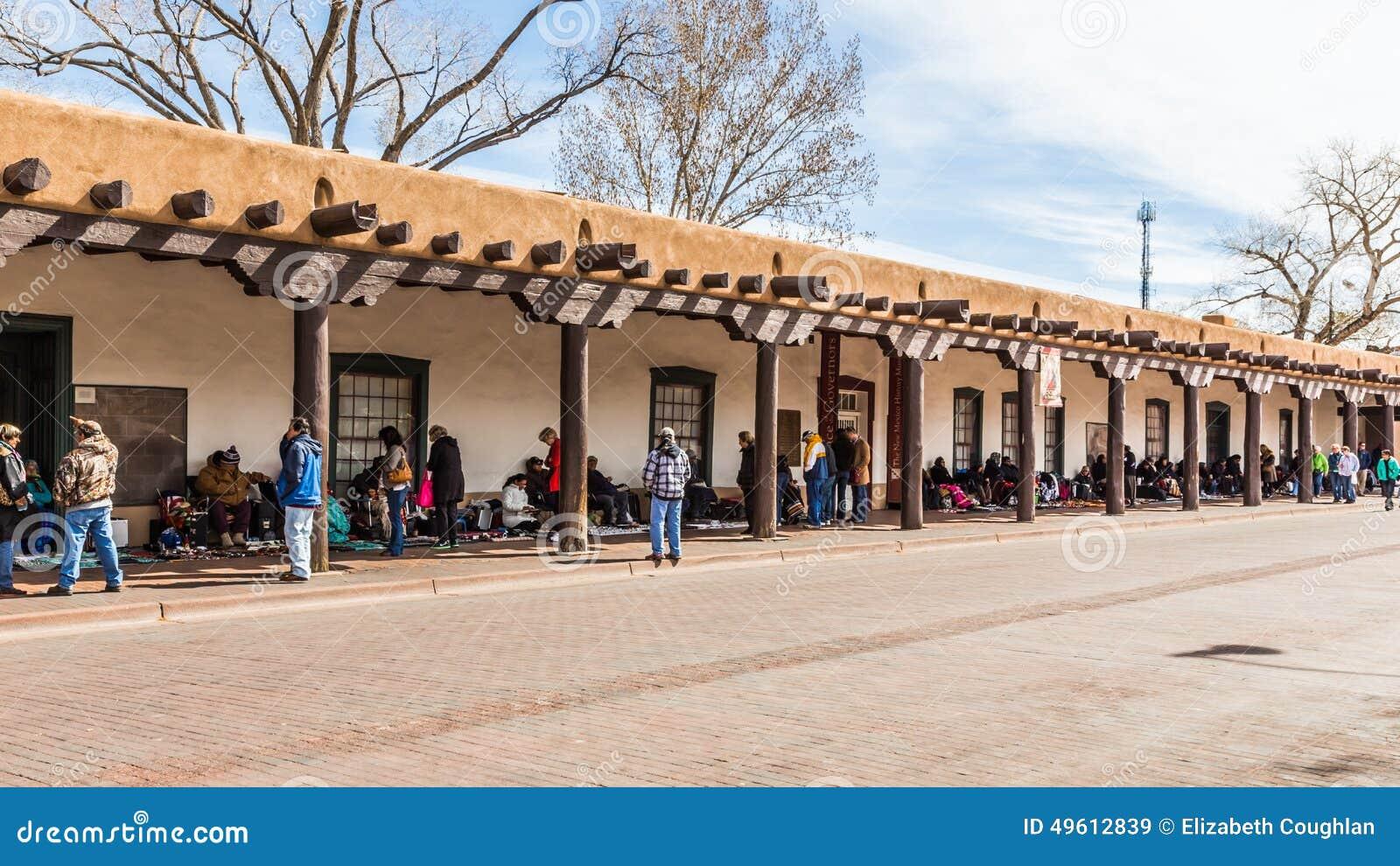 圣菲,新墨西哥,美国, 2014年4月, 4日:Govenor的宫殿