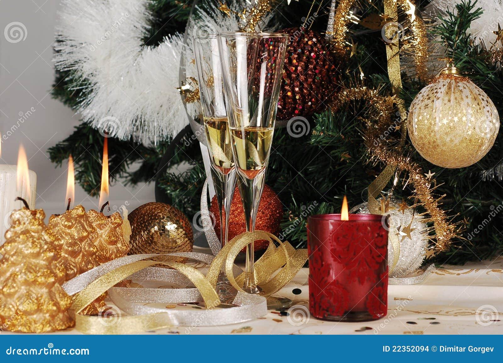 圣诞前夕装饰