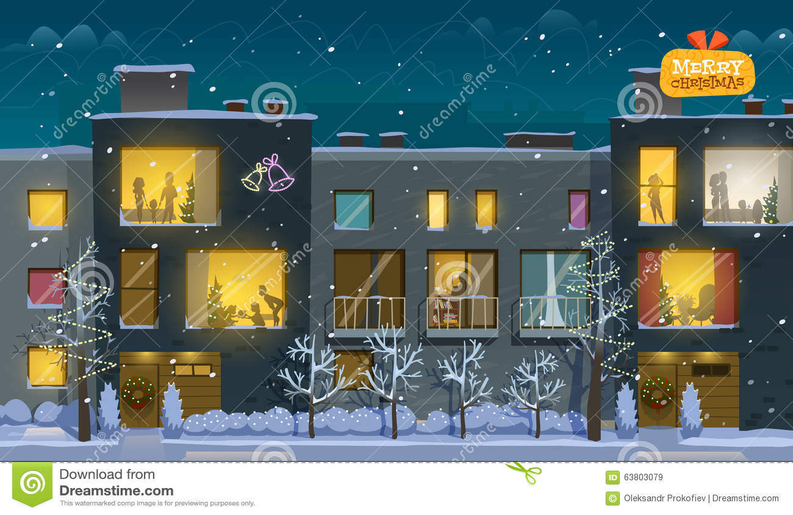 圣诞快乐公寓