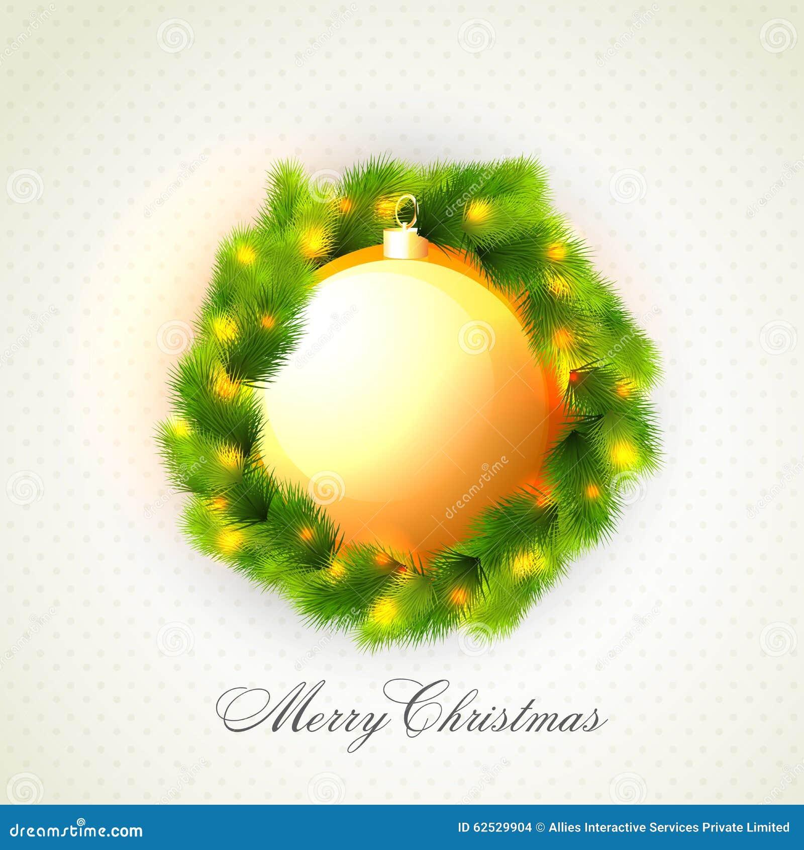 圣诞快乐庆祝的贺卡