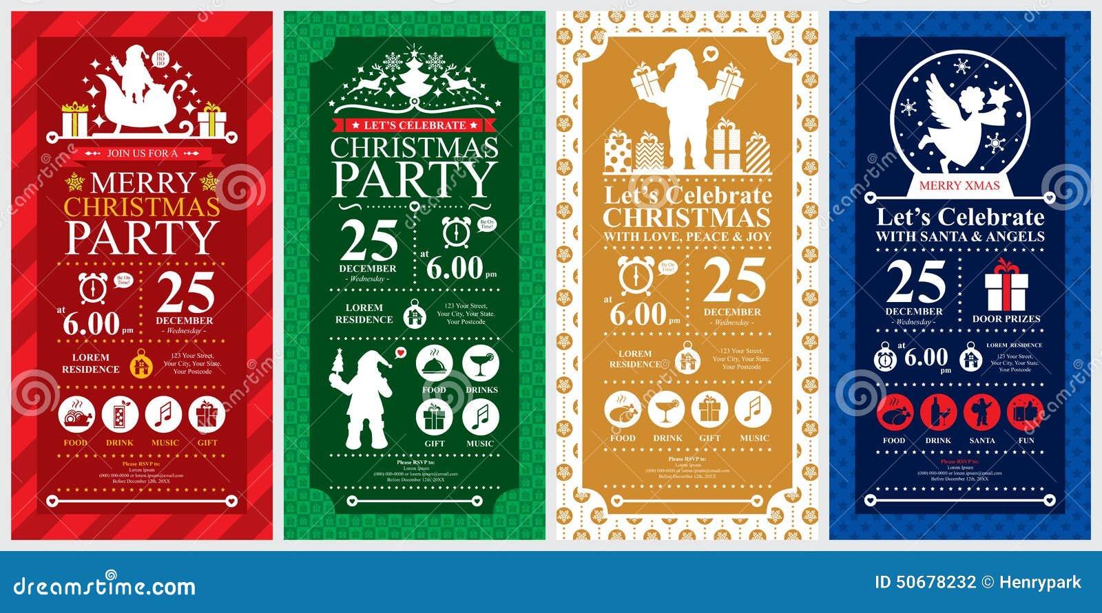 Download 圣诞晚会邀请卡集 向量例证. 插画 包括有 邀请, 手册, 地球, 礼品, 金子, 理发店, 天使, 饮料 - 50678232