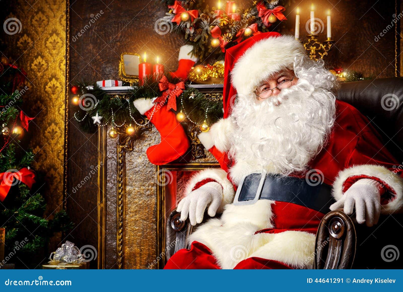 圣诞老人休息