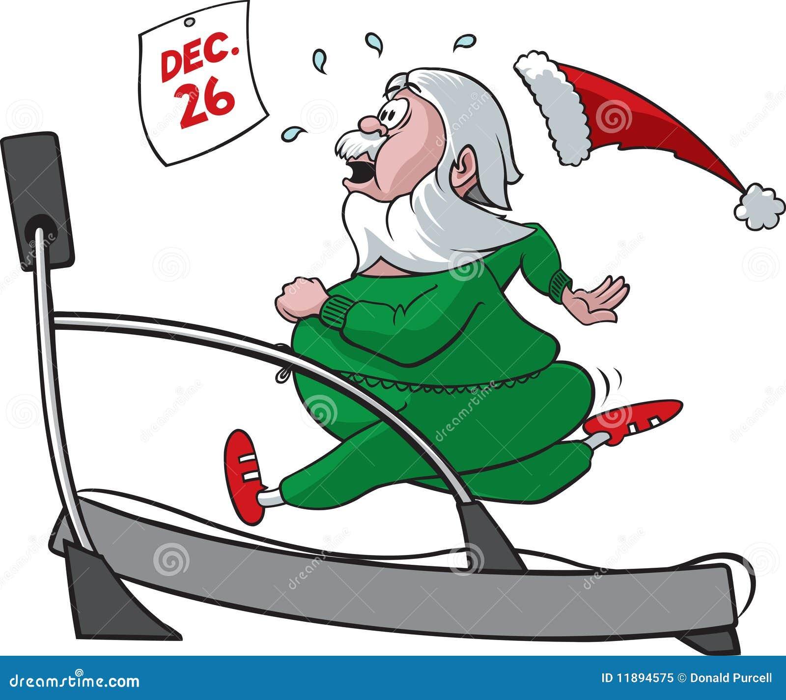 圣诞老人踏车