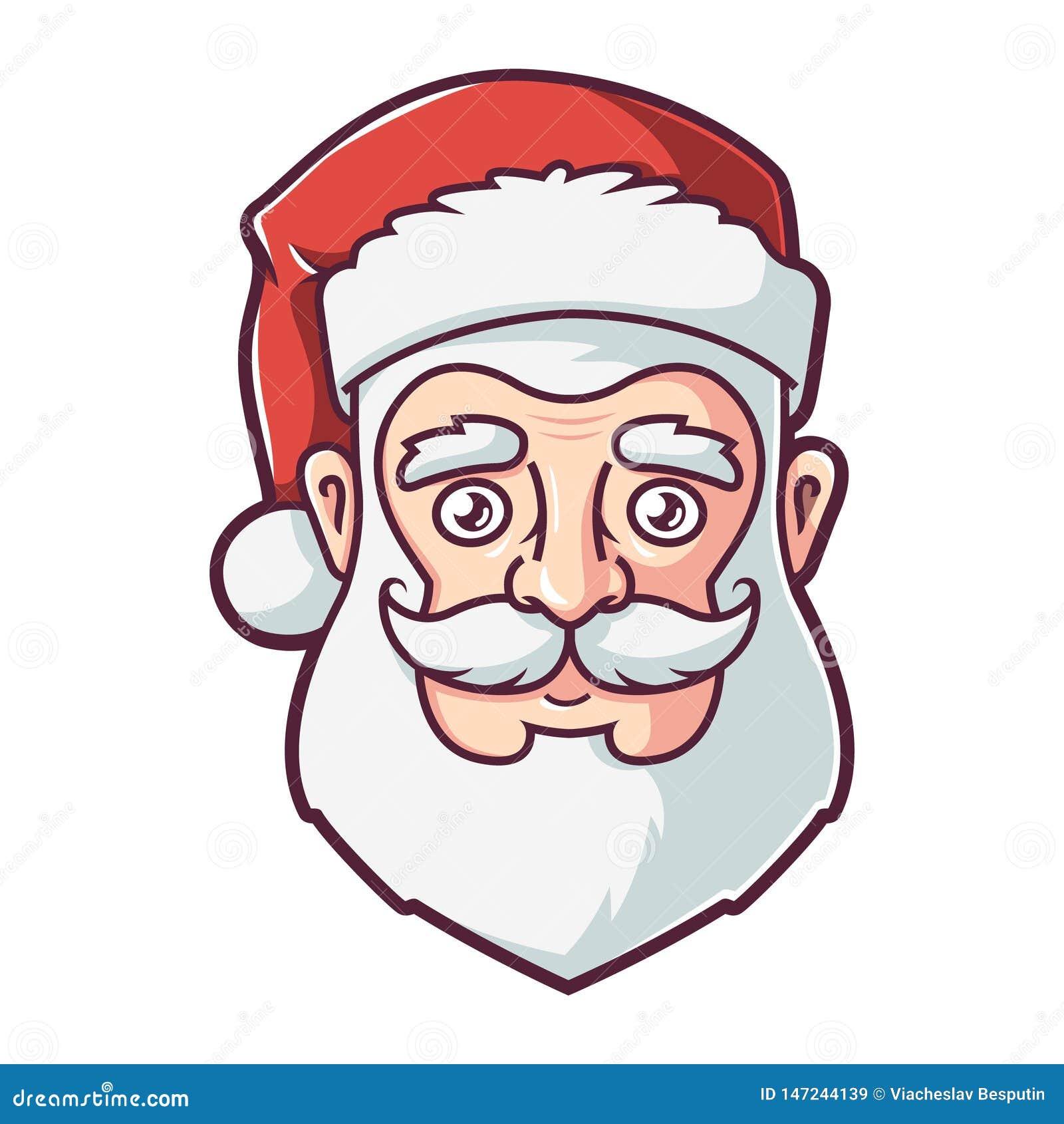 圣诞老人项目的面孔