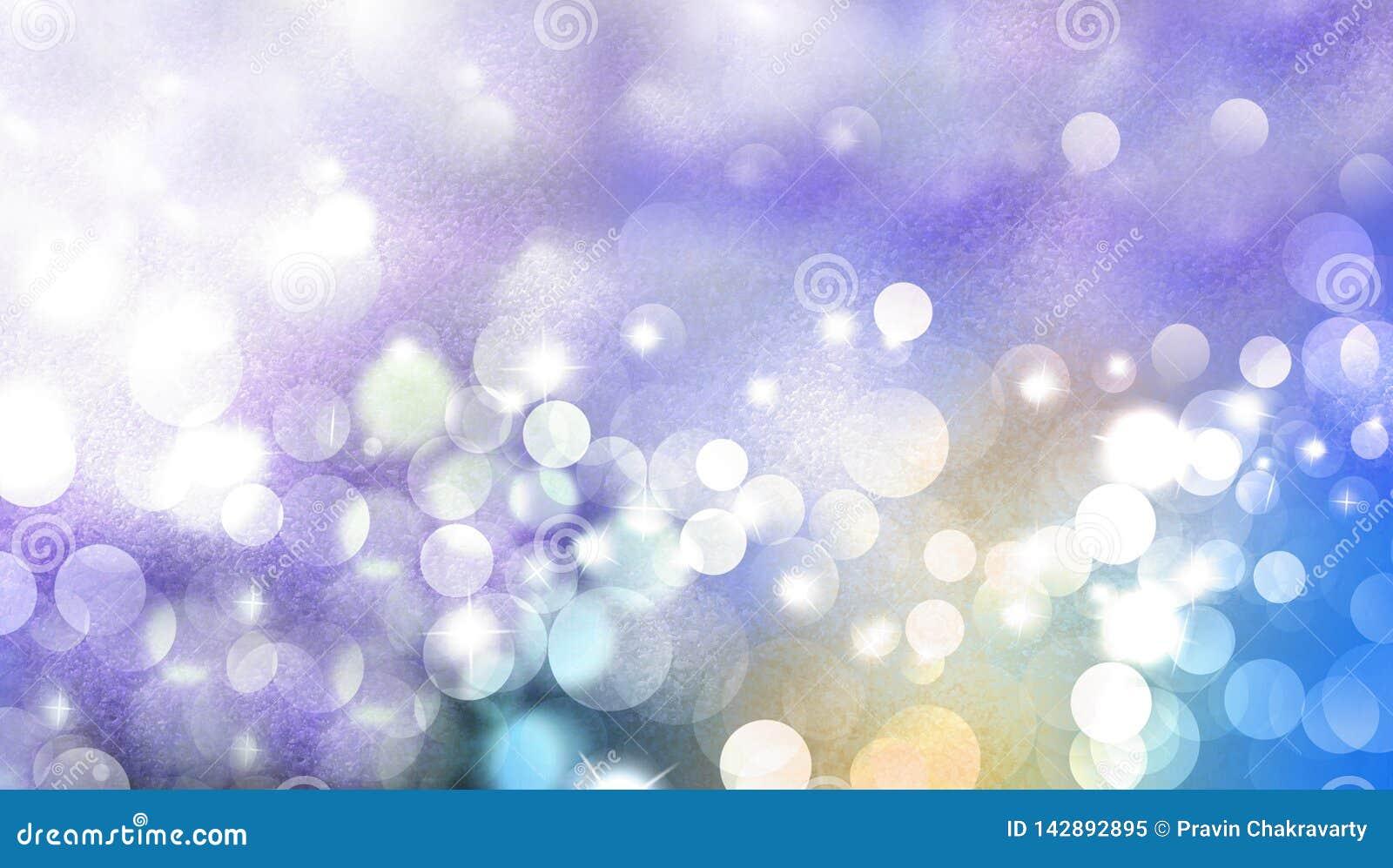圣诞节不可思议的闪闪发光,光点,传染媒介对闪烁的bokeh作用 背景背景蜡染布手册褐色圆的设计桌面例证邀请介绍树荫棕褐色二使用墙纸网站