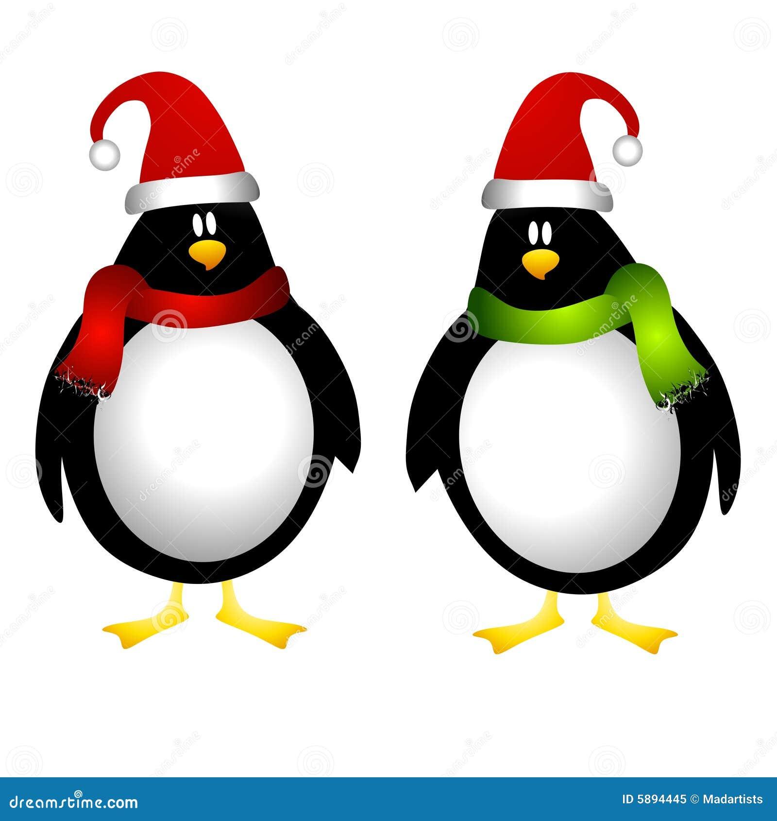 圣诞节企鹅 免版税库存照片 - 图片: 5894445