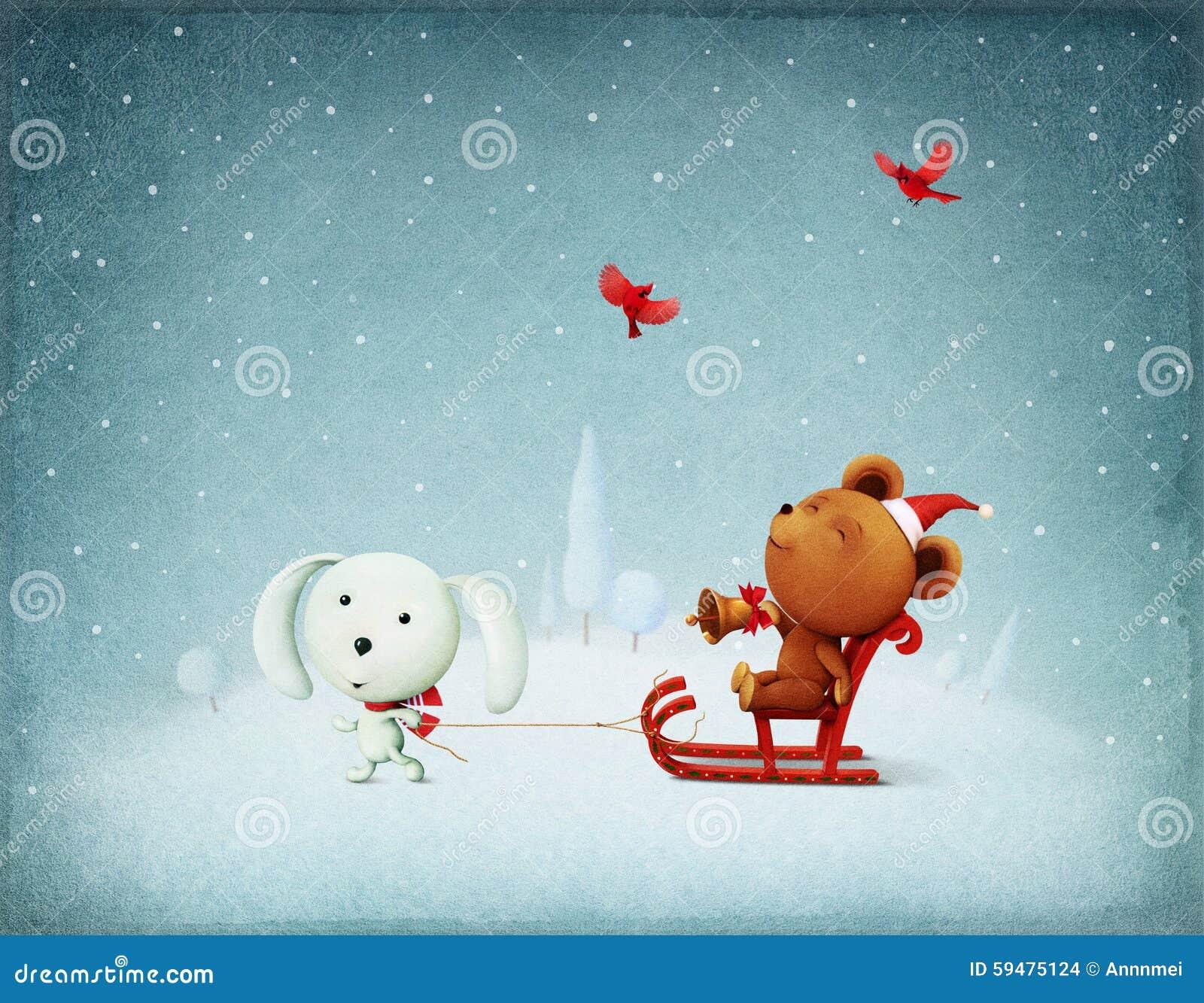 圣诞节冒险兔宝宝和熊