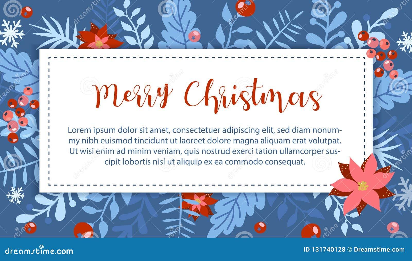 圣诞节和新年元素,您的设计的海报
