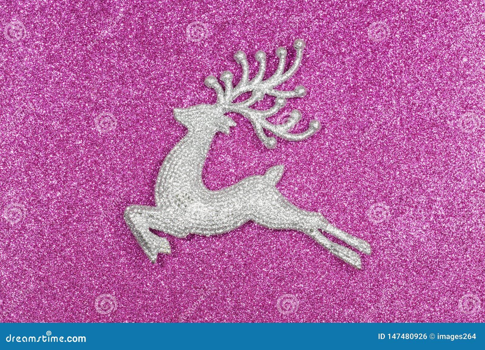 圣诞节和新年牡鹿