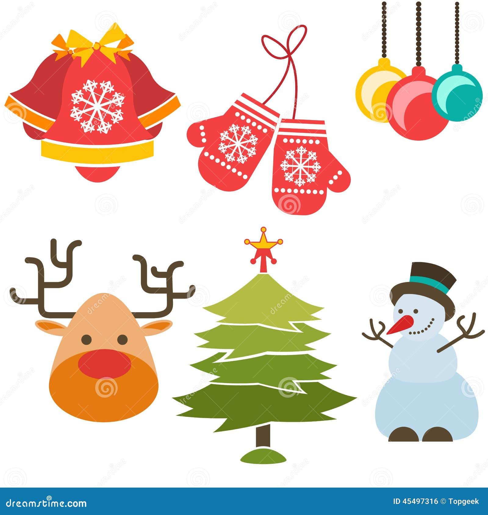 圣诞节图标新年度