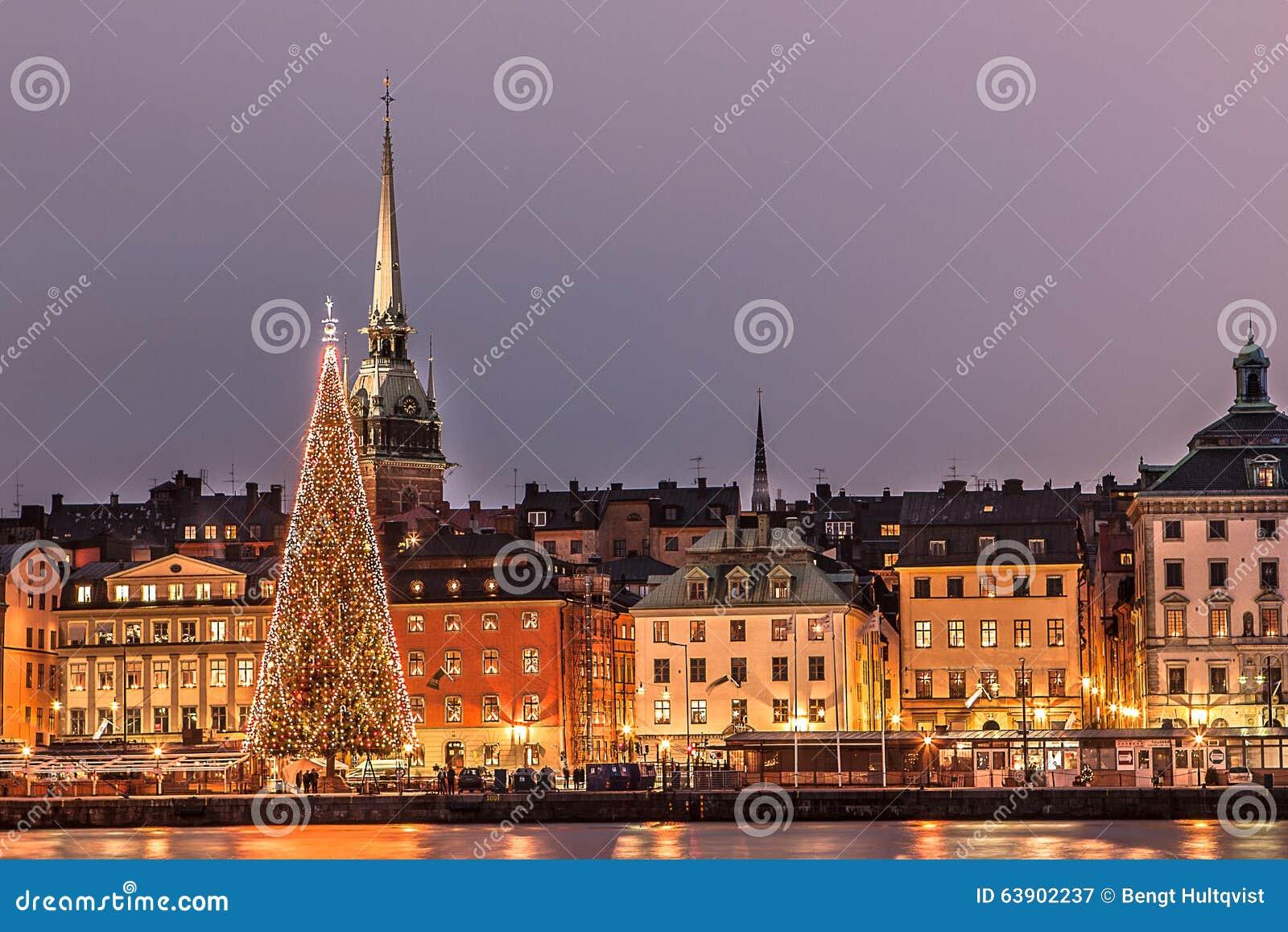 圣诞节在斯德哥尔摩