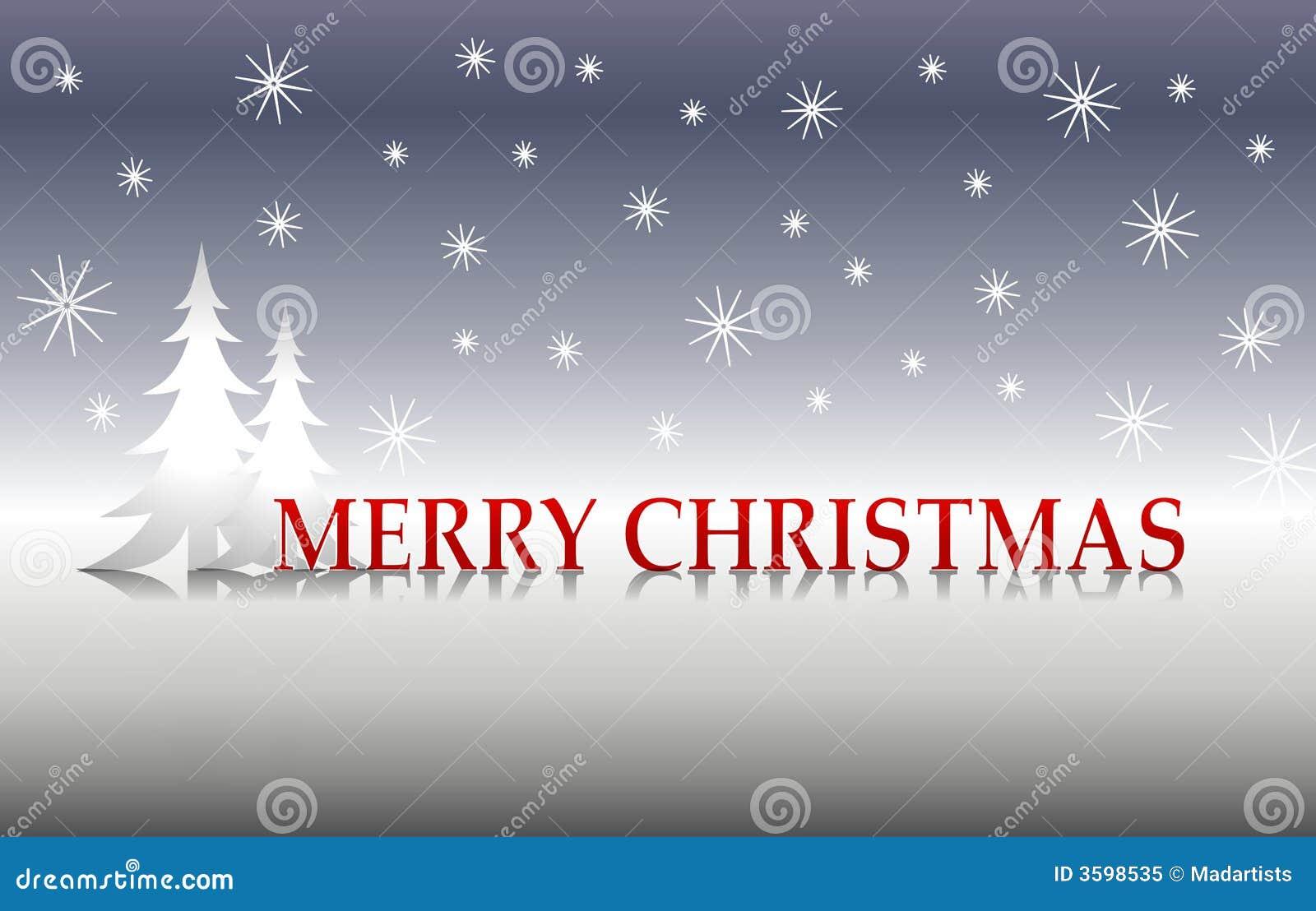 圣诞节快活的银树