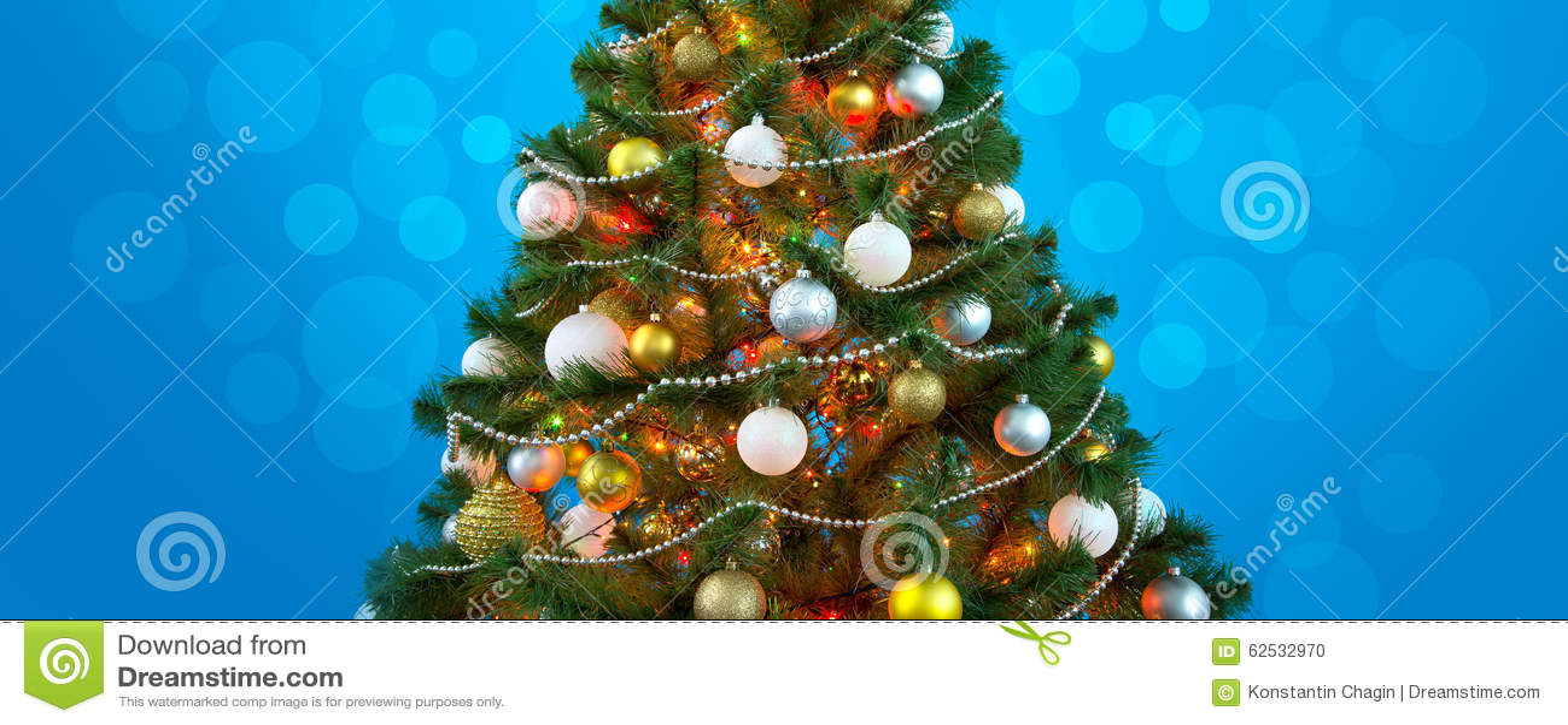 圣诞节我的投资组合结构树向量版本