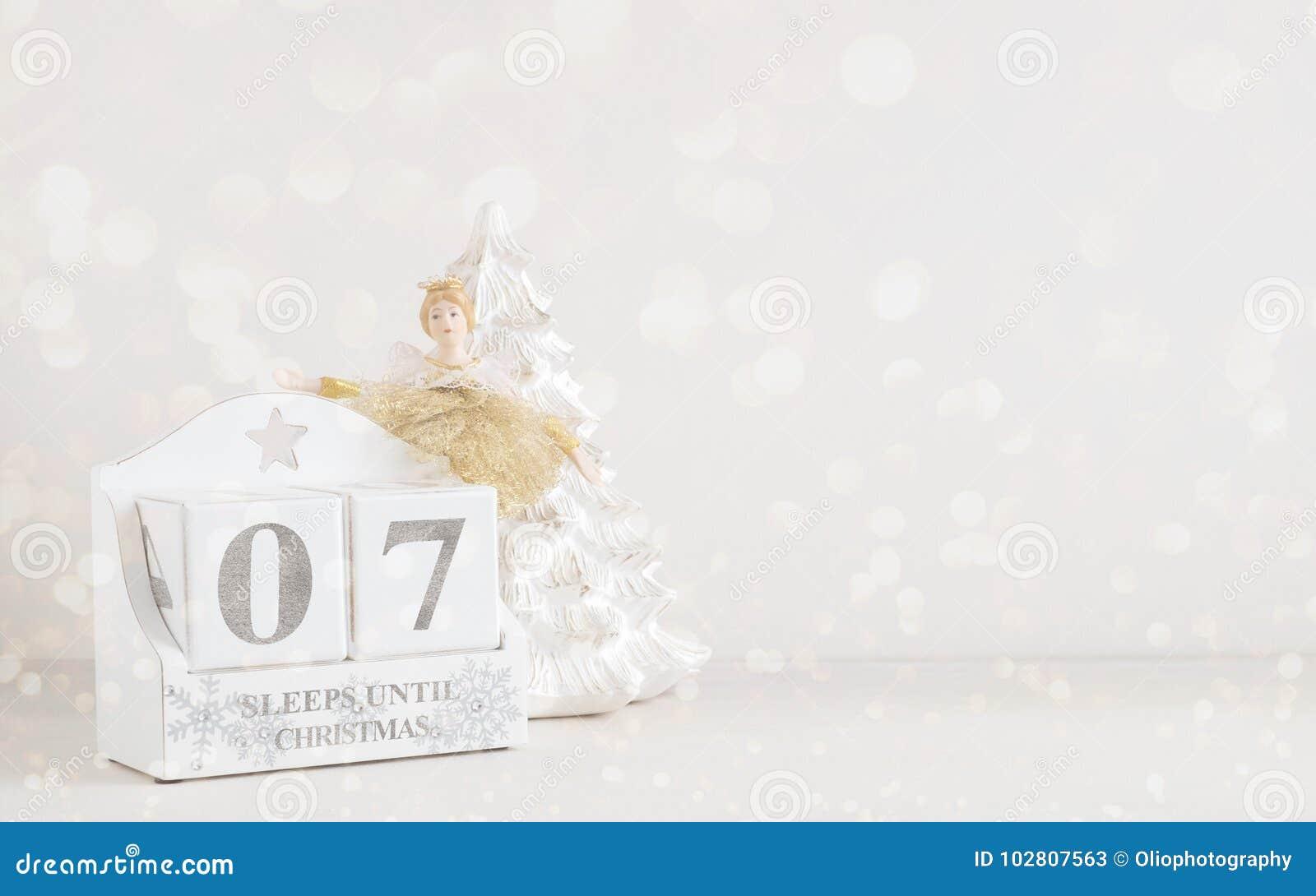 圣诞节日历-直到圣诞节的7睡眠