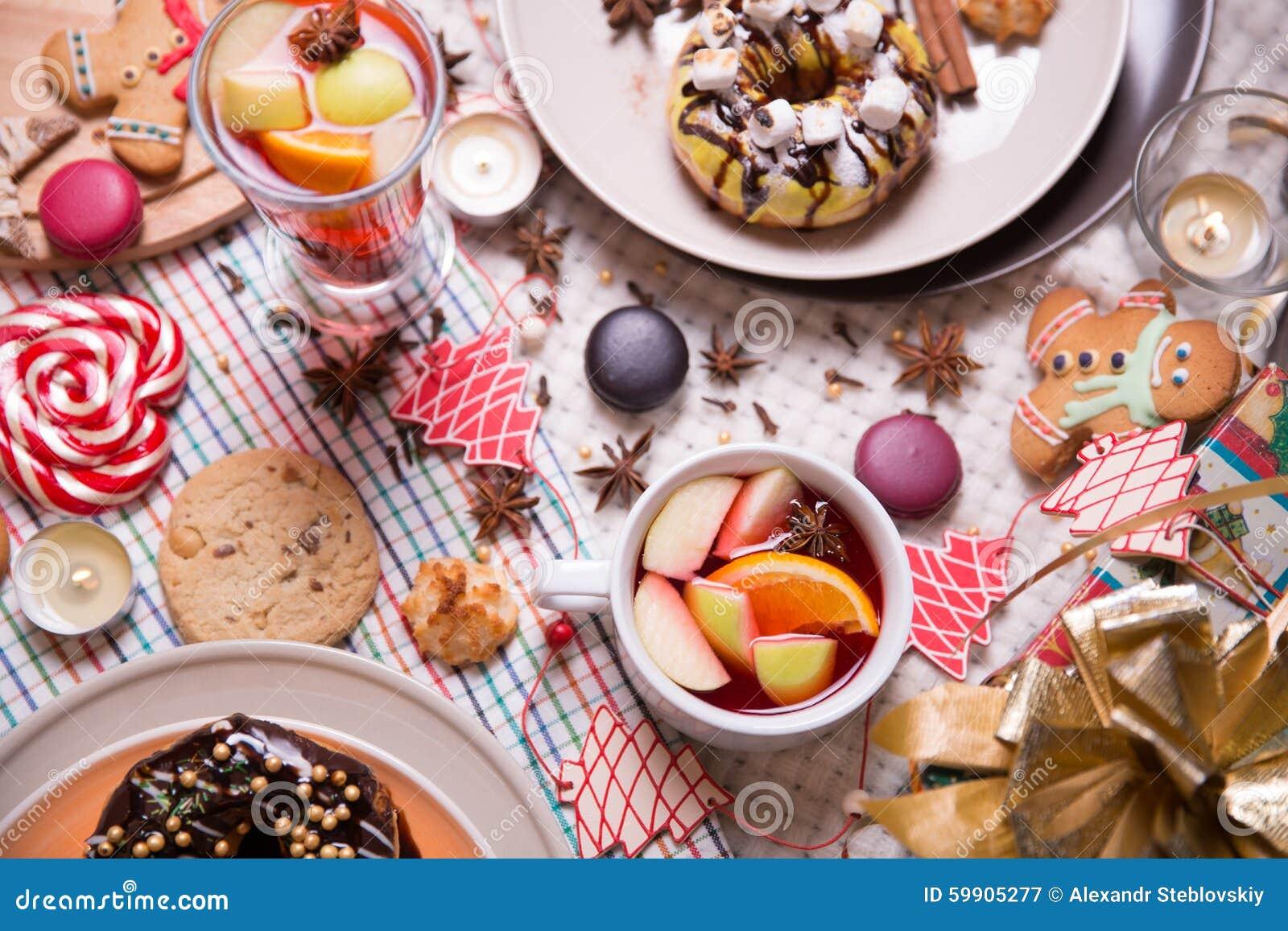 圣诞节曲奇饼姜饼做宫殿甜点 库存照片 - 图片图片